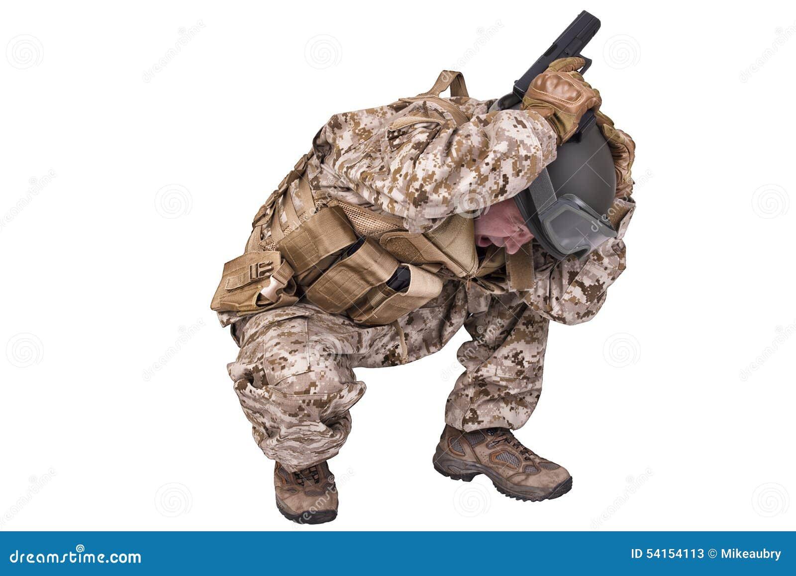 Σκύψιμο στρατιωτών στρατού