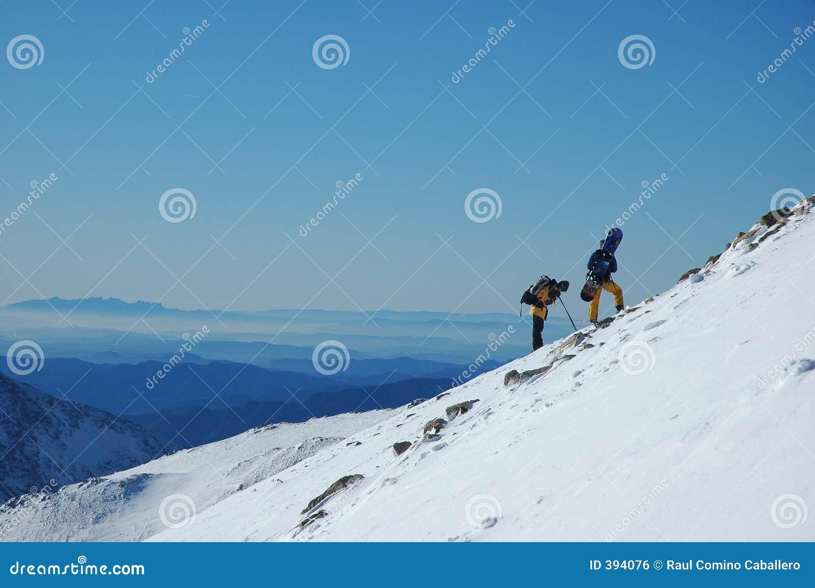 σνόουμπορντ βουνών