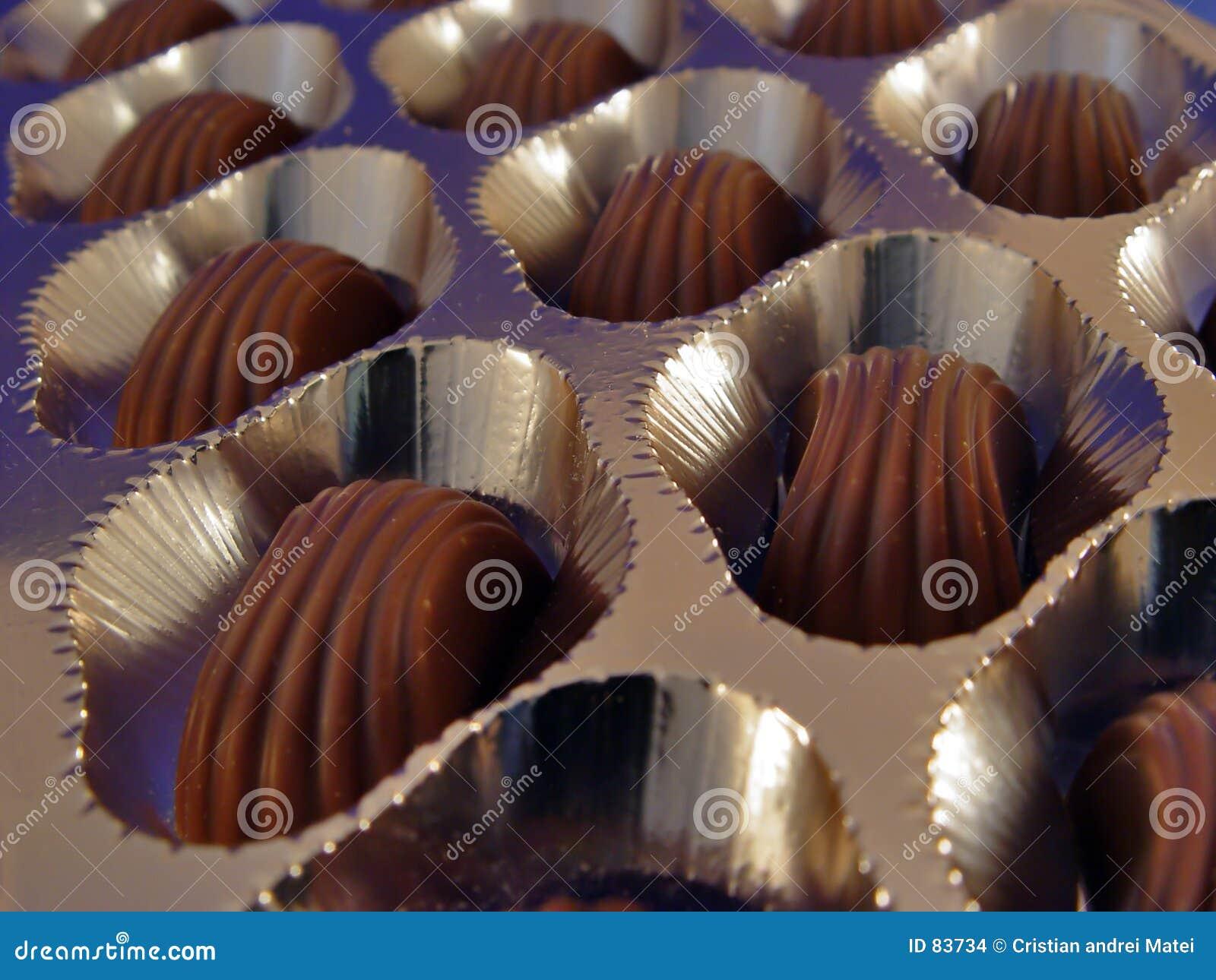 σοκολάτα κιβωτίων
