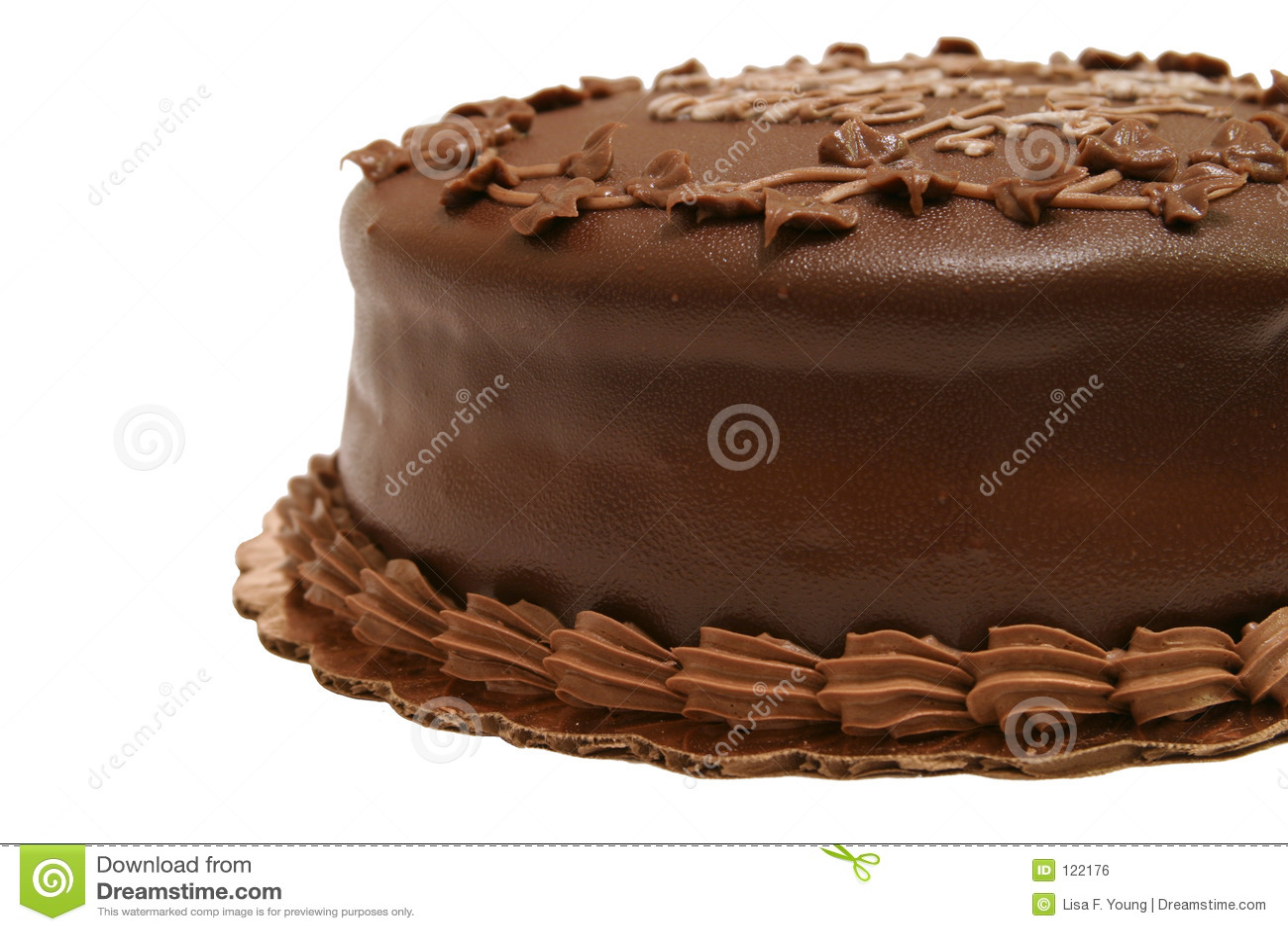σοκολάτα 2 κέικ μερική