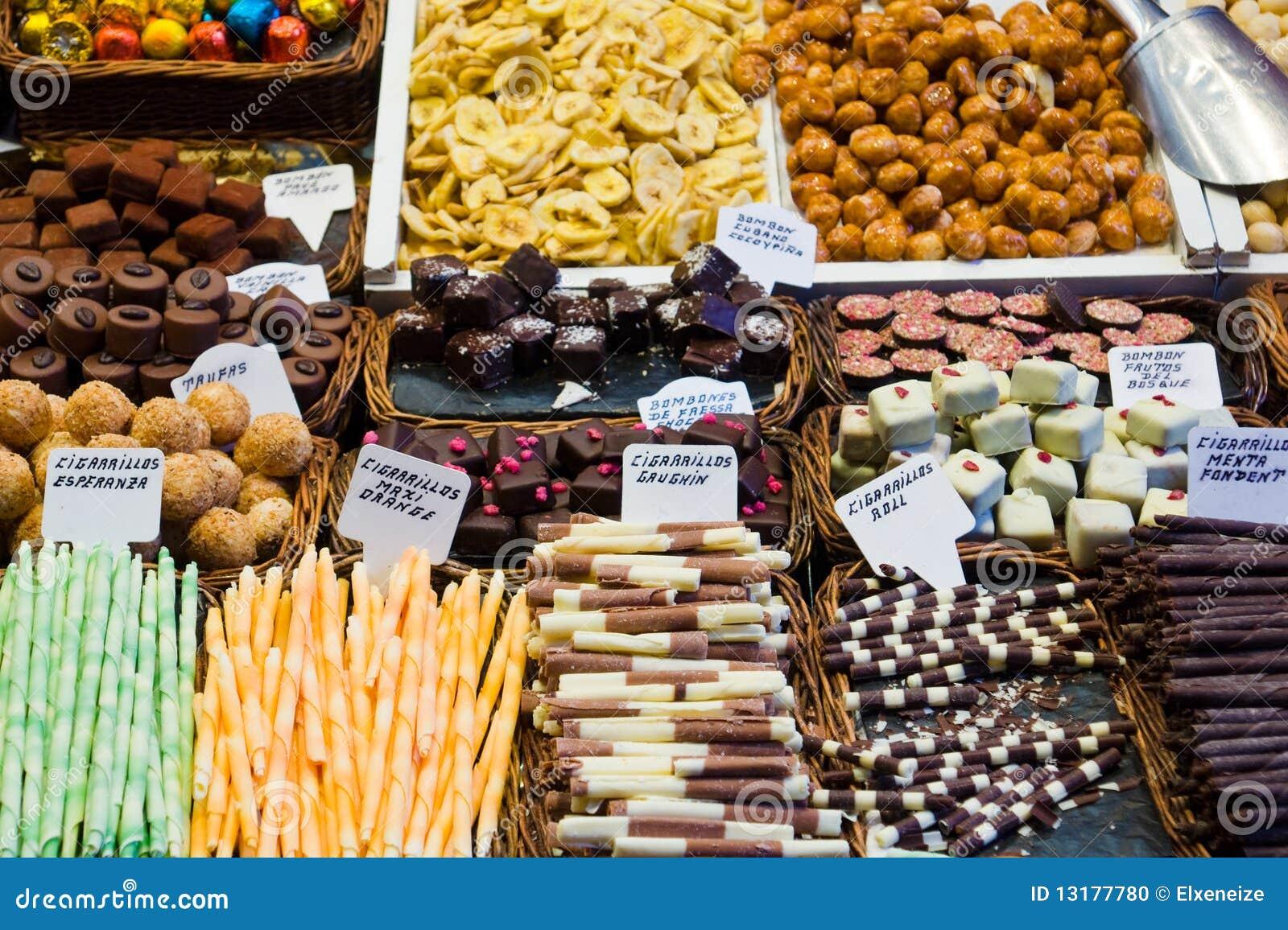 σοκολάτες καραμελών