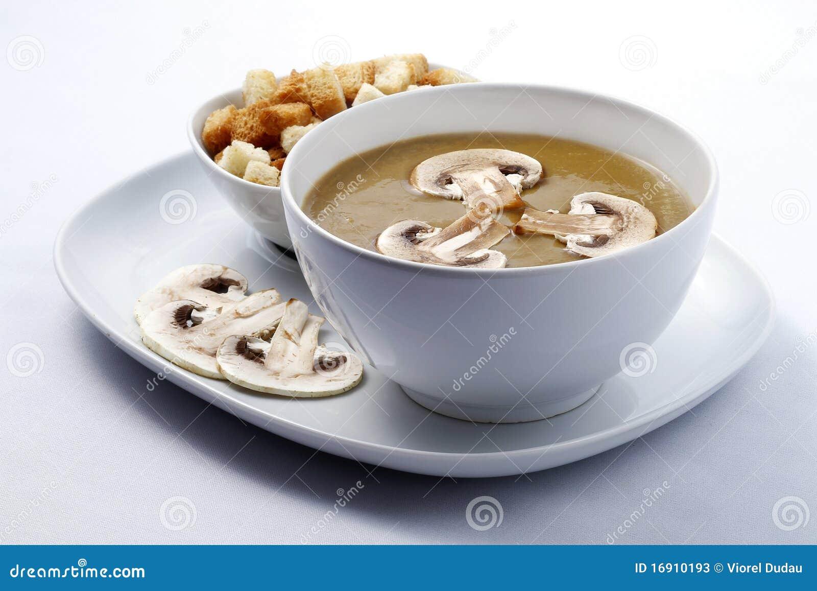 σούπα μανιταριών