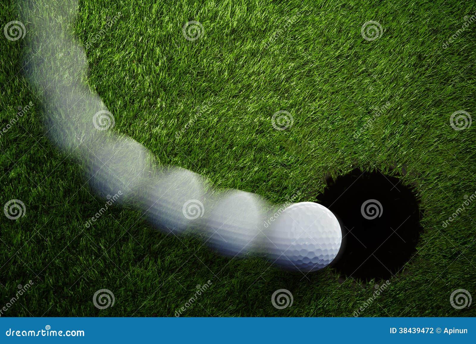 Σπάζοντας γκολφ Putt