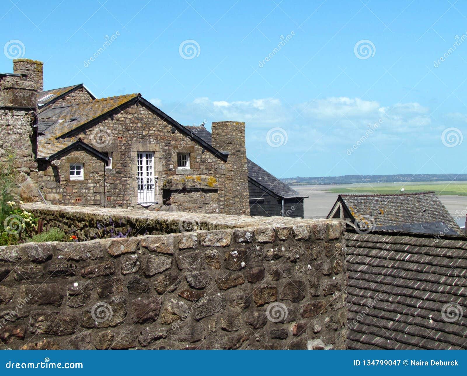 Σπίτια Mont Saint-Michel