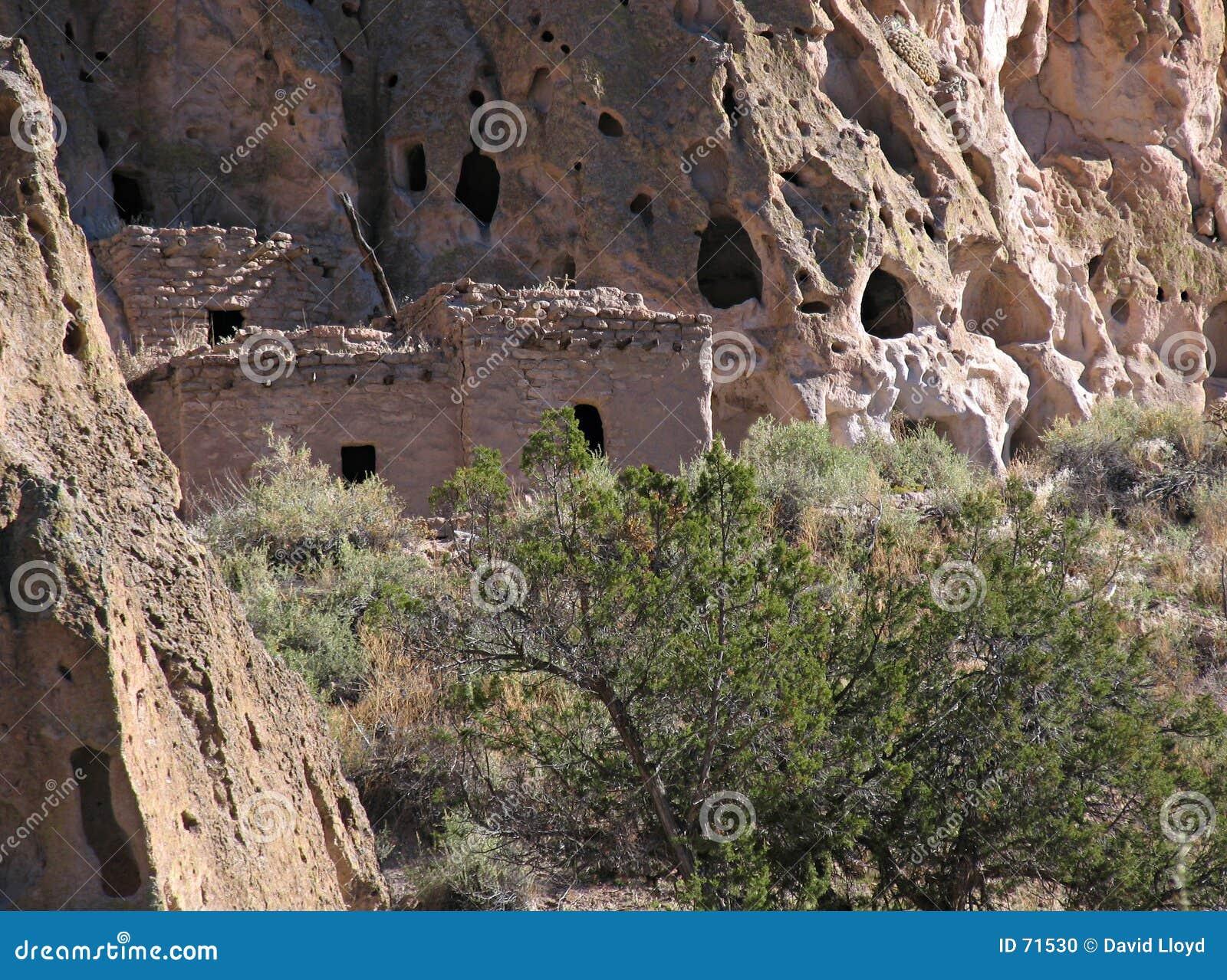 σπίτι απότομων βράχων