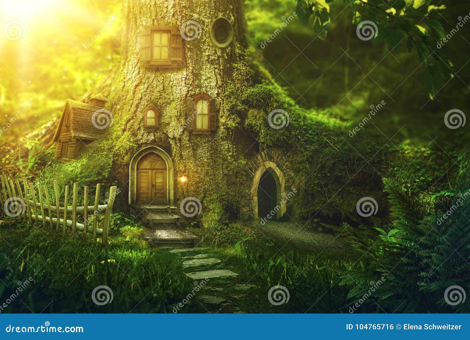 Σπίτι δέντρων φαντασίας