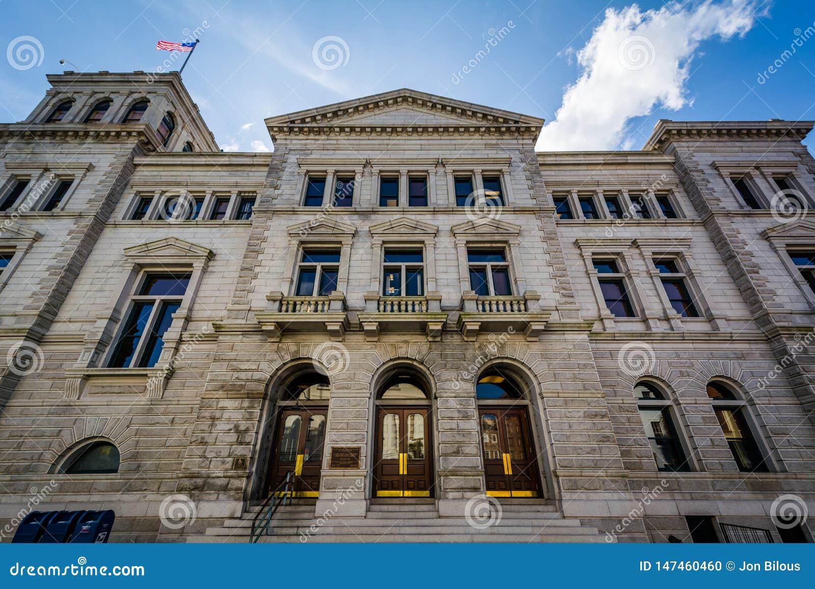 Σπίτι Ηνωμένων ταχυδρομείου και δικαστηρίου, στο Τσάρλεστον, νότια Καρολίνα