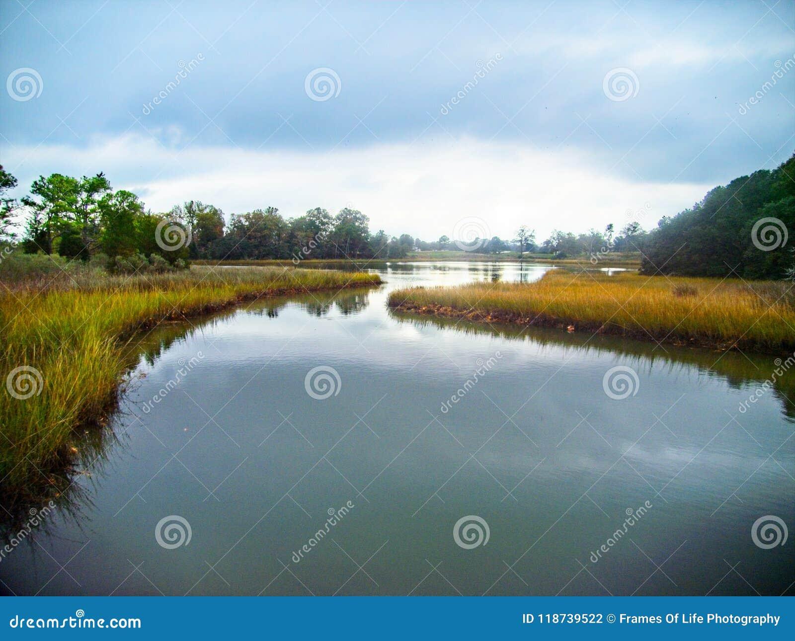 Σπίτι κολπίσκων Lynnhaven του περιβαλλοντικού ιδρύματος του Brock στην παραλία Βιρτζίνια της Βιρτζίνια