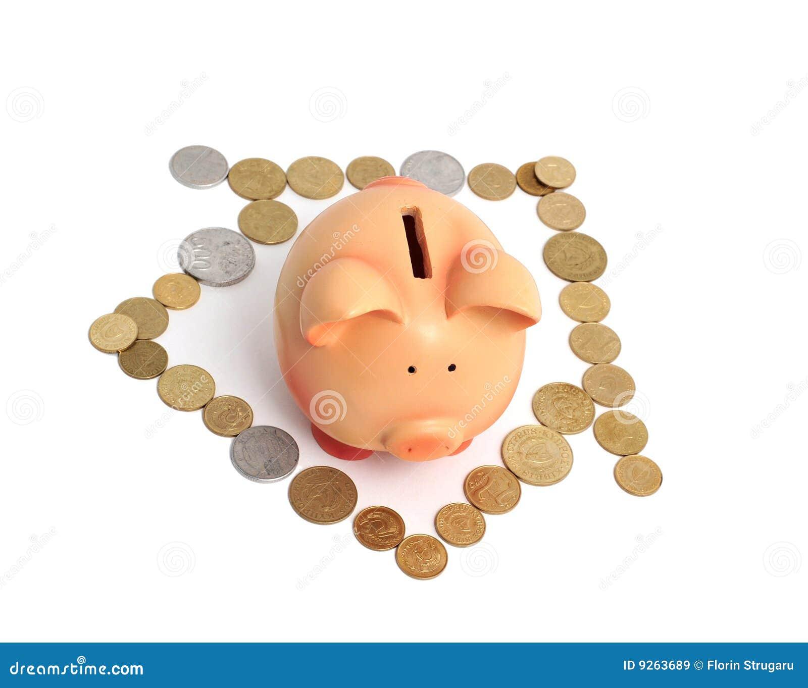 σπίτι νομισμάτων τραπεζών πο