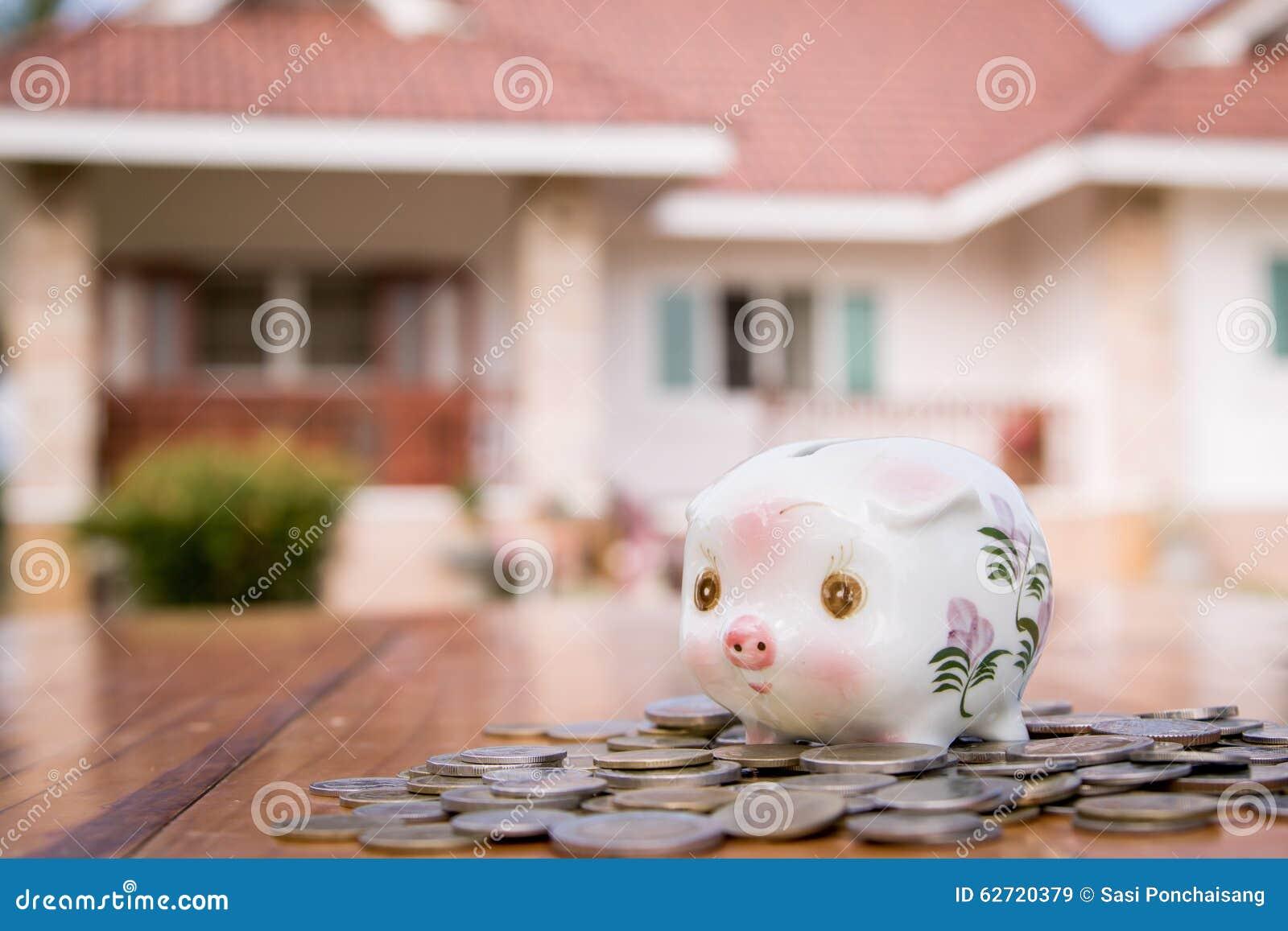 σπίτι τραπεζών piggy