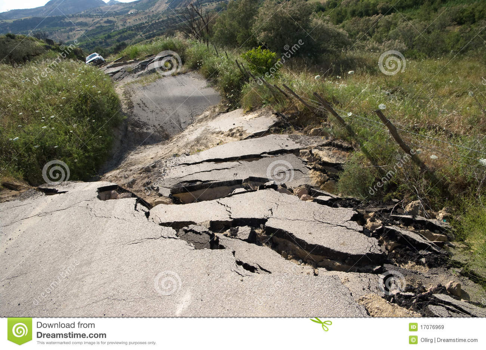 σπασμένος δρόμος