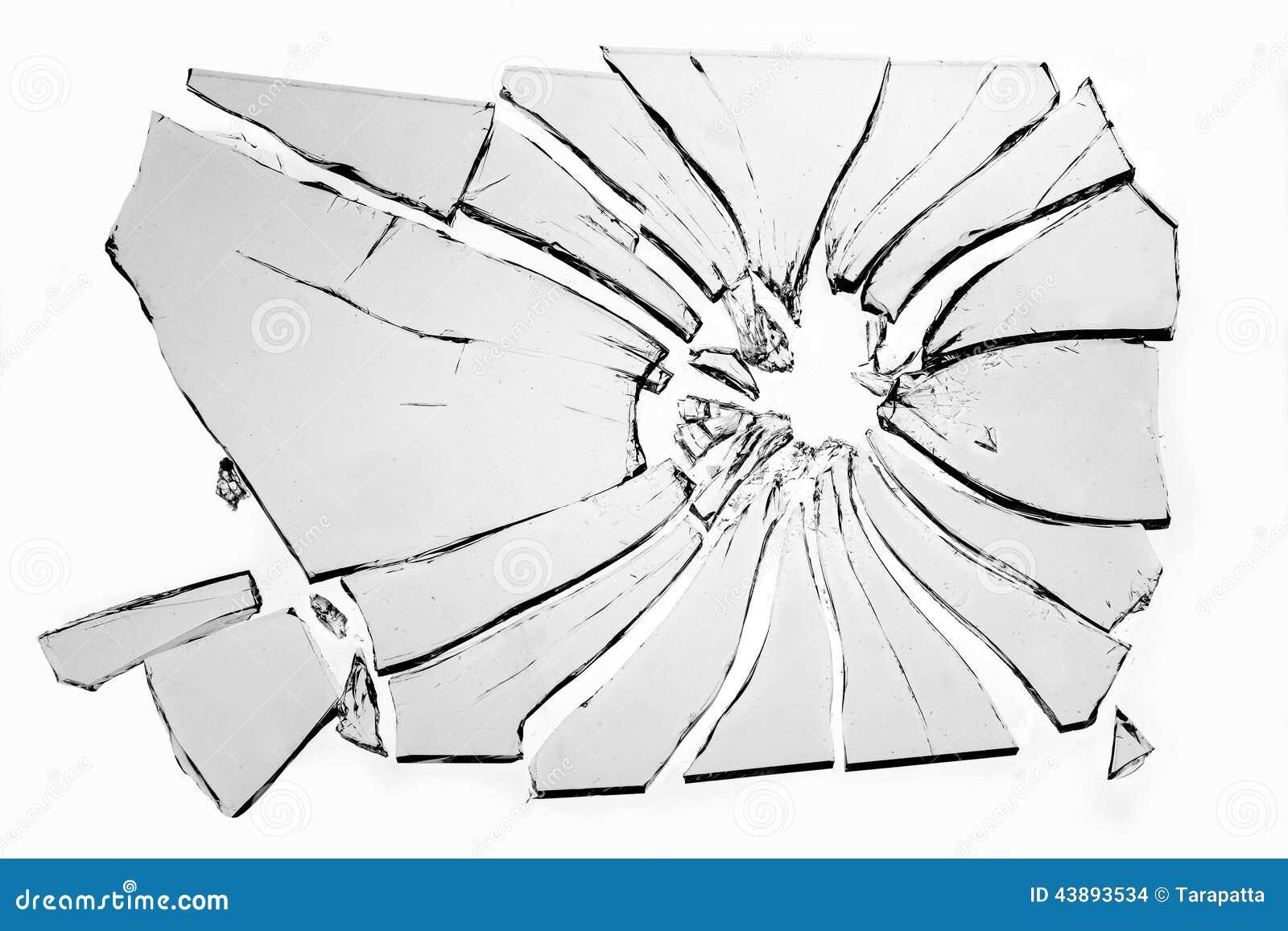 σπασμένο γυαλί