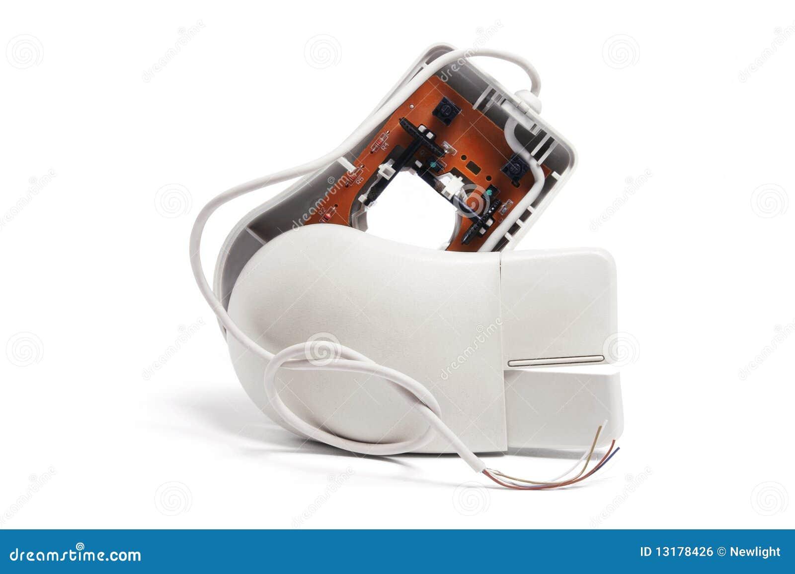σπασμένο ποντίκι υπολογ&io