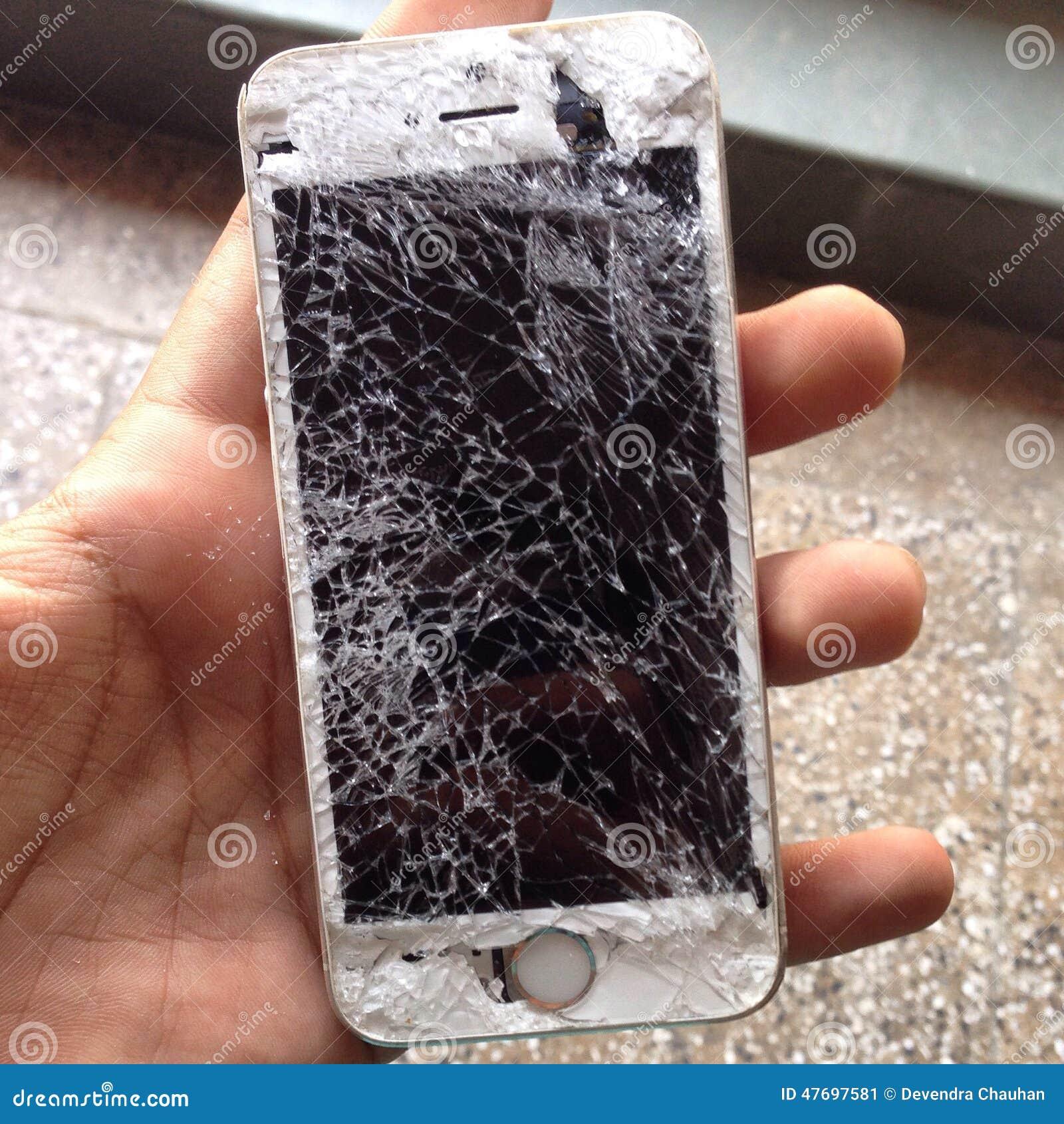 Σπασμένο iPhone 5s
