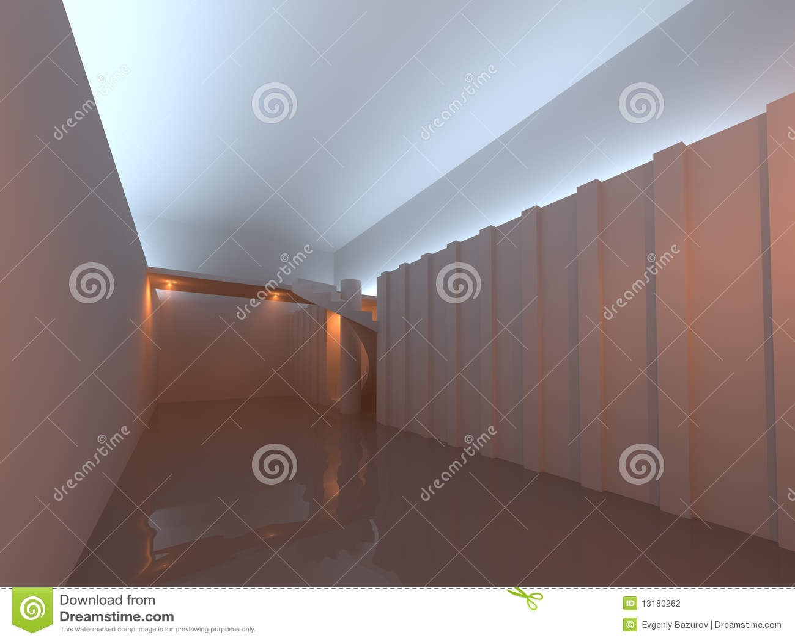 σπειροειδή σκαλοπάτια &del