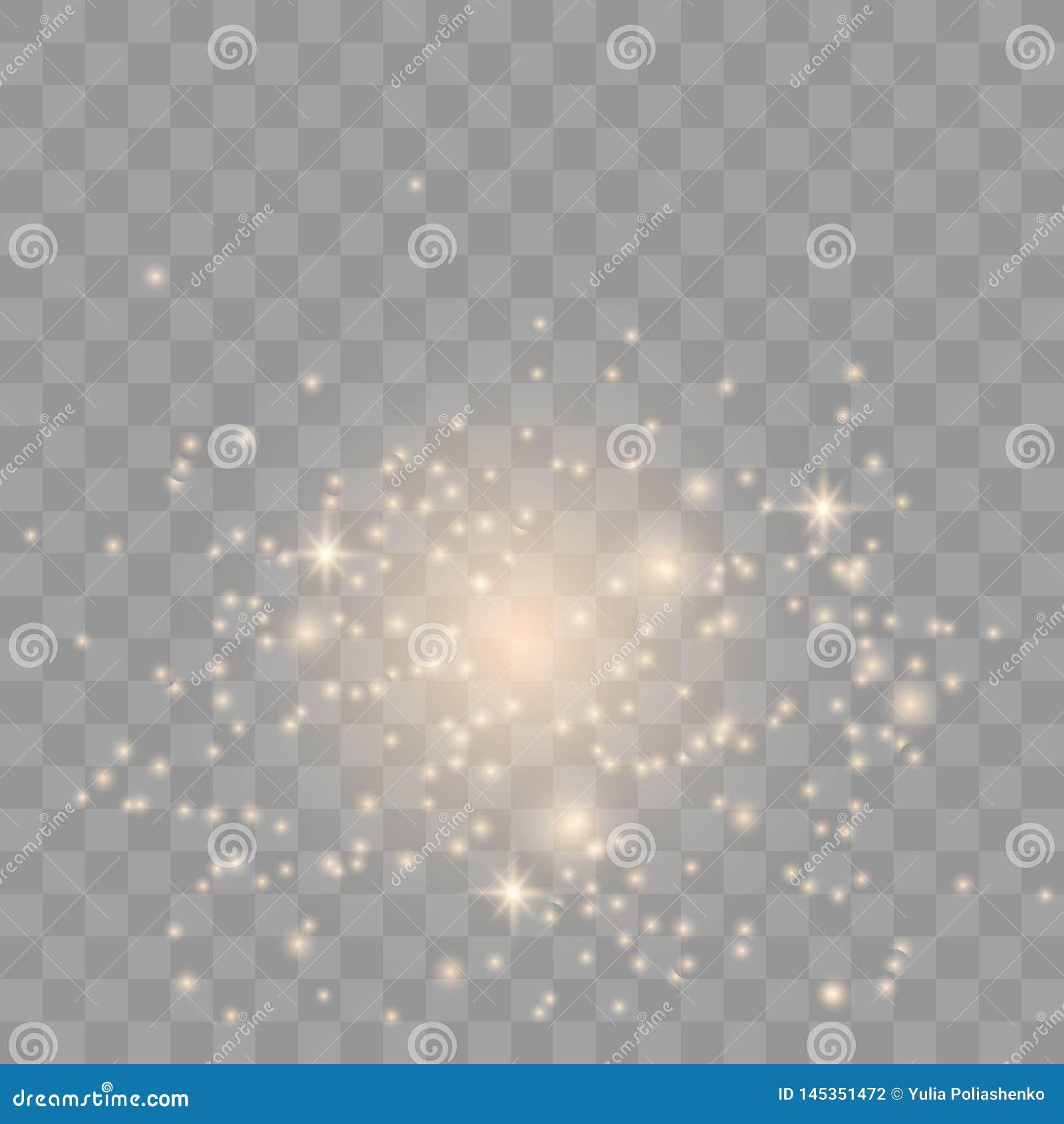 Σπινθήρες σκόνης αστεριών