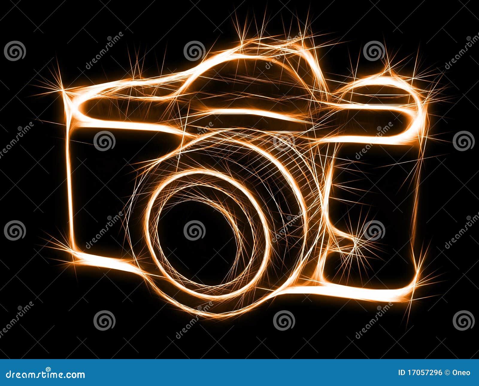 σπινθήρισμα σκιαγραφιών photocam
