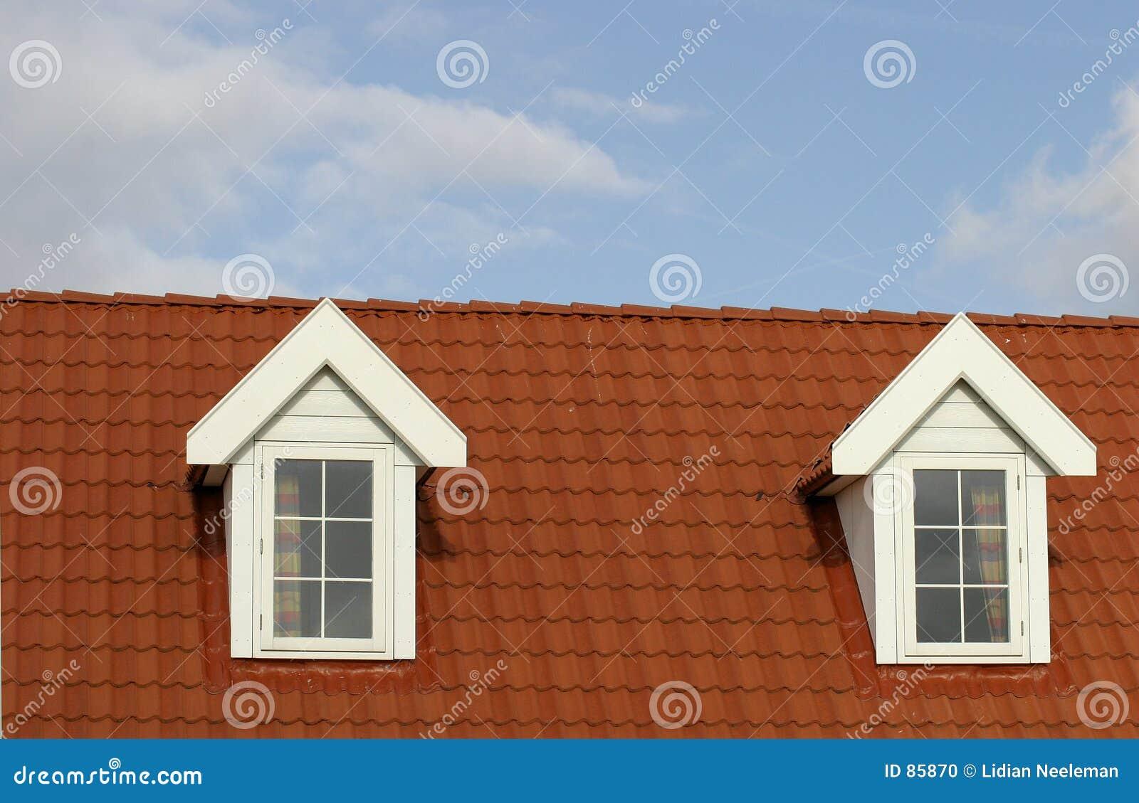 στέγη σπιτιών