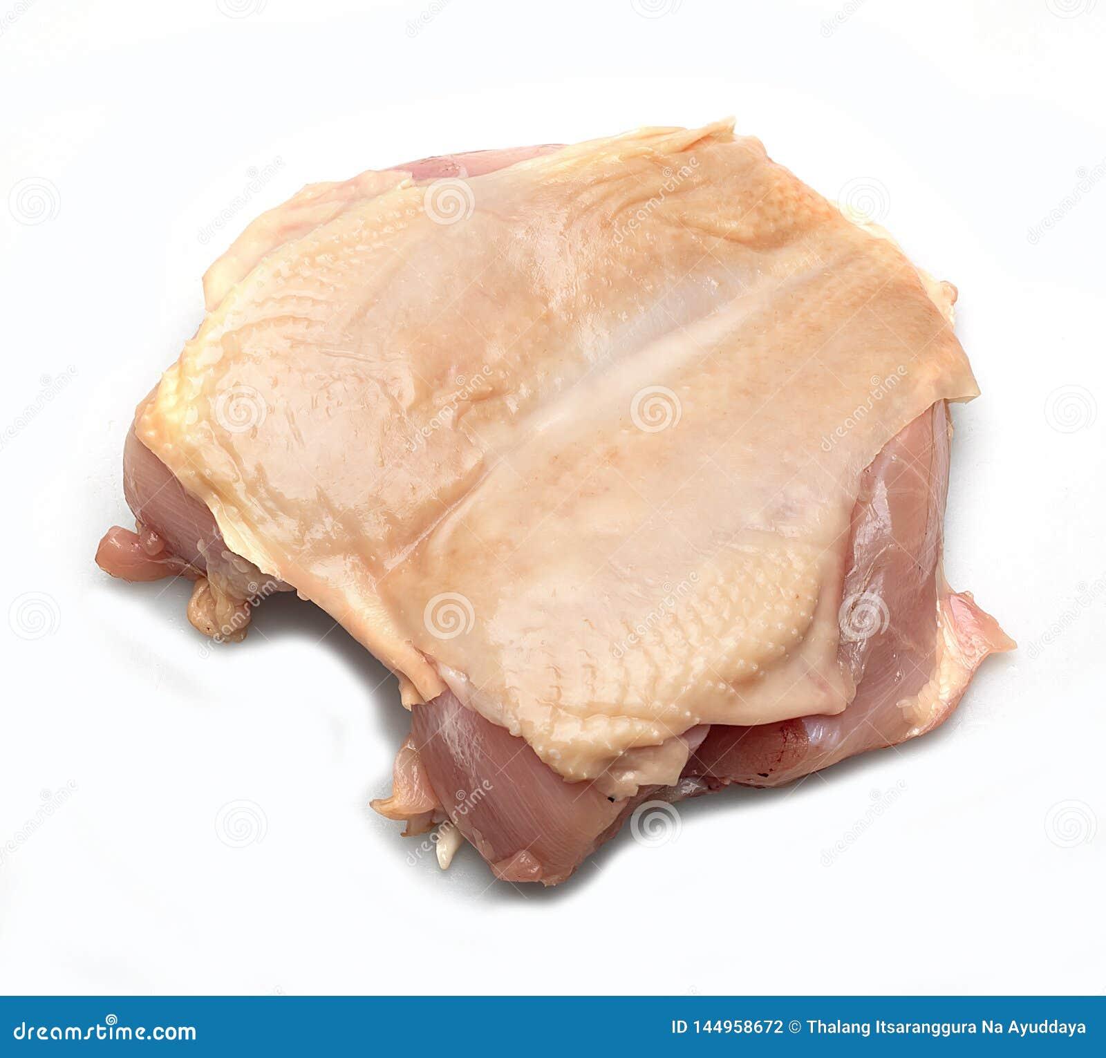 Στήθος κοτόπουλου στο μάγειρα Άσπρο σκηνικό