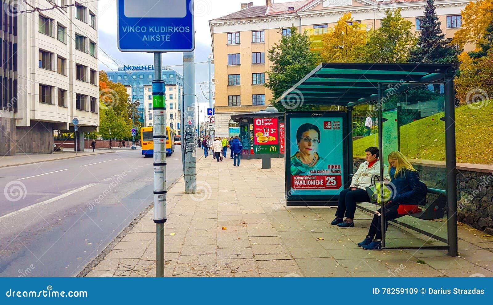 Σταθμός δημόσιων συγκοινωνιών οδών Vinius