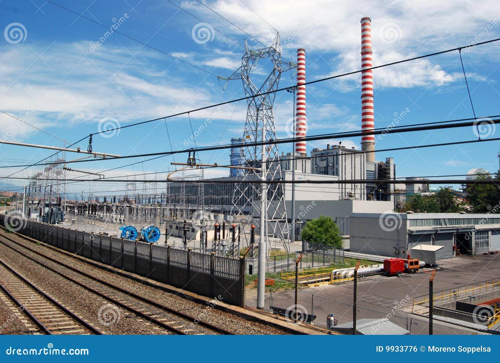 σταθμός παραγωγής ηλεκτρικού ρεύματος άνθρακα θερμικός