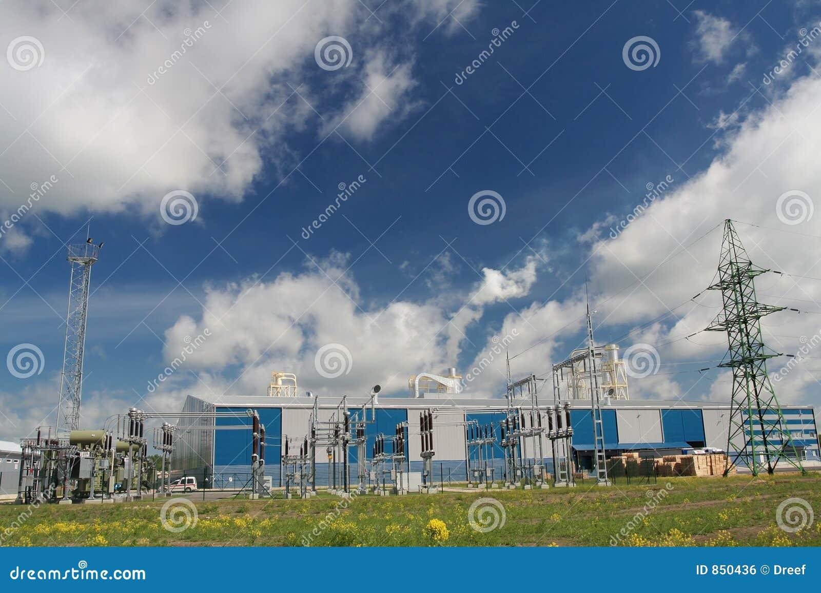 σταθμός παραγωγής ηλεκτ&r