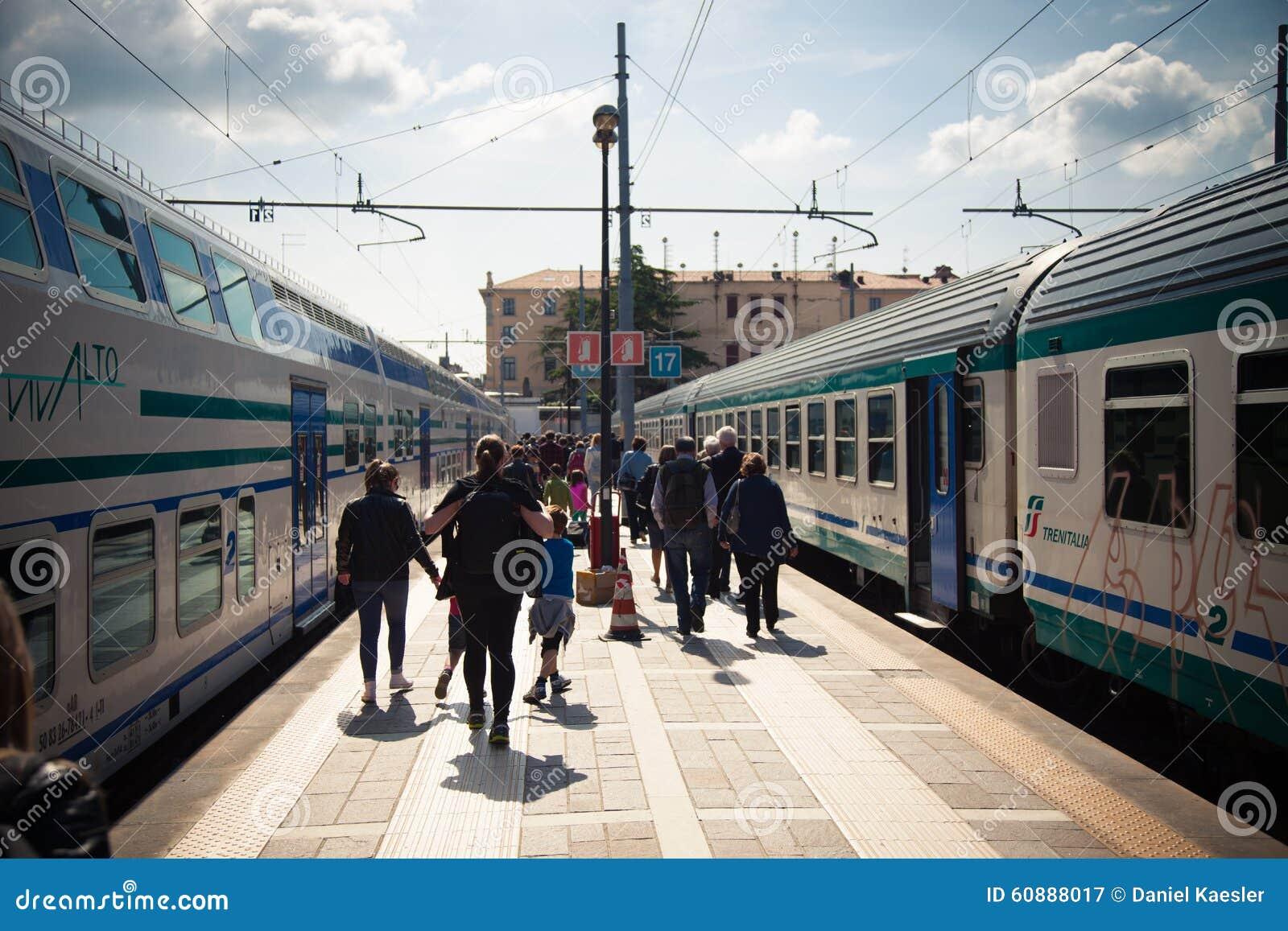 Σταθμός τρένου Santa Lucia στη Βενετία