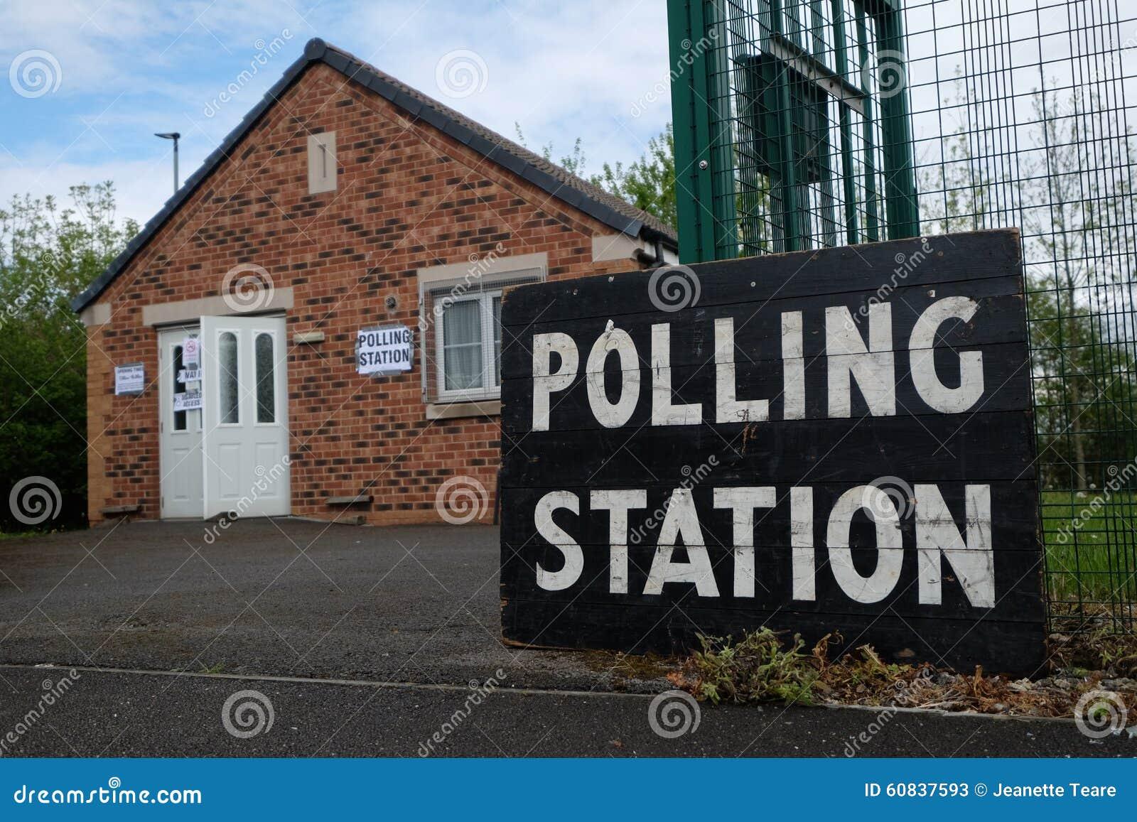 Σταθμός ψηφοφορίας στο UK
