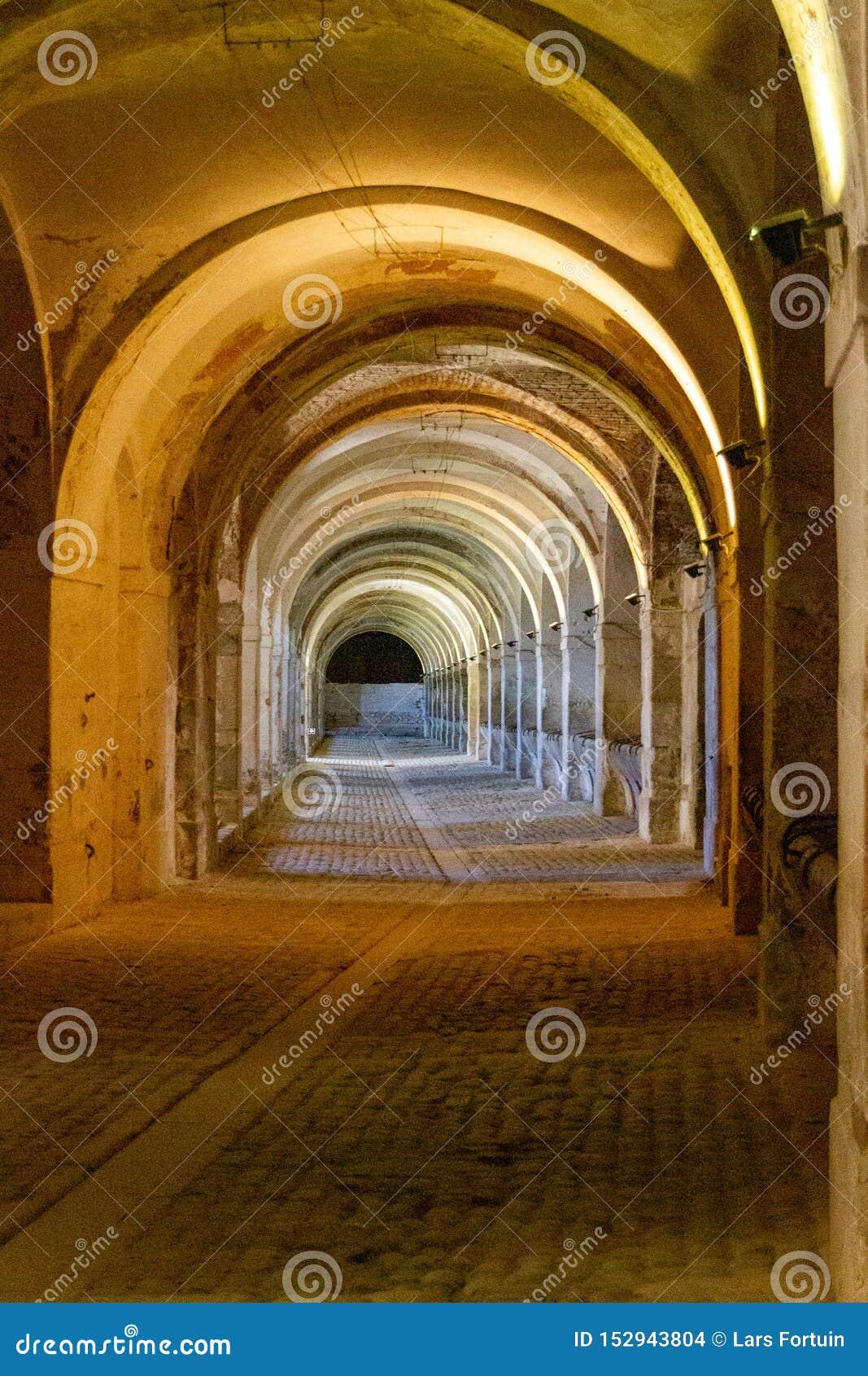 Σταύλοι σε Sant Ferran Castle