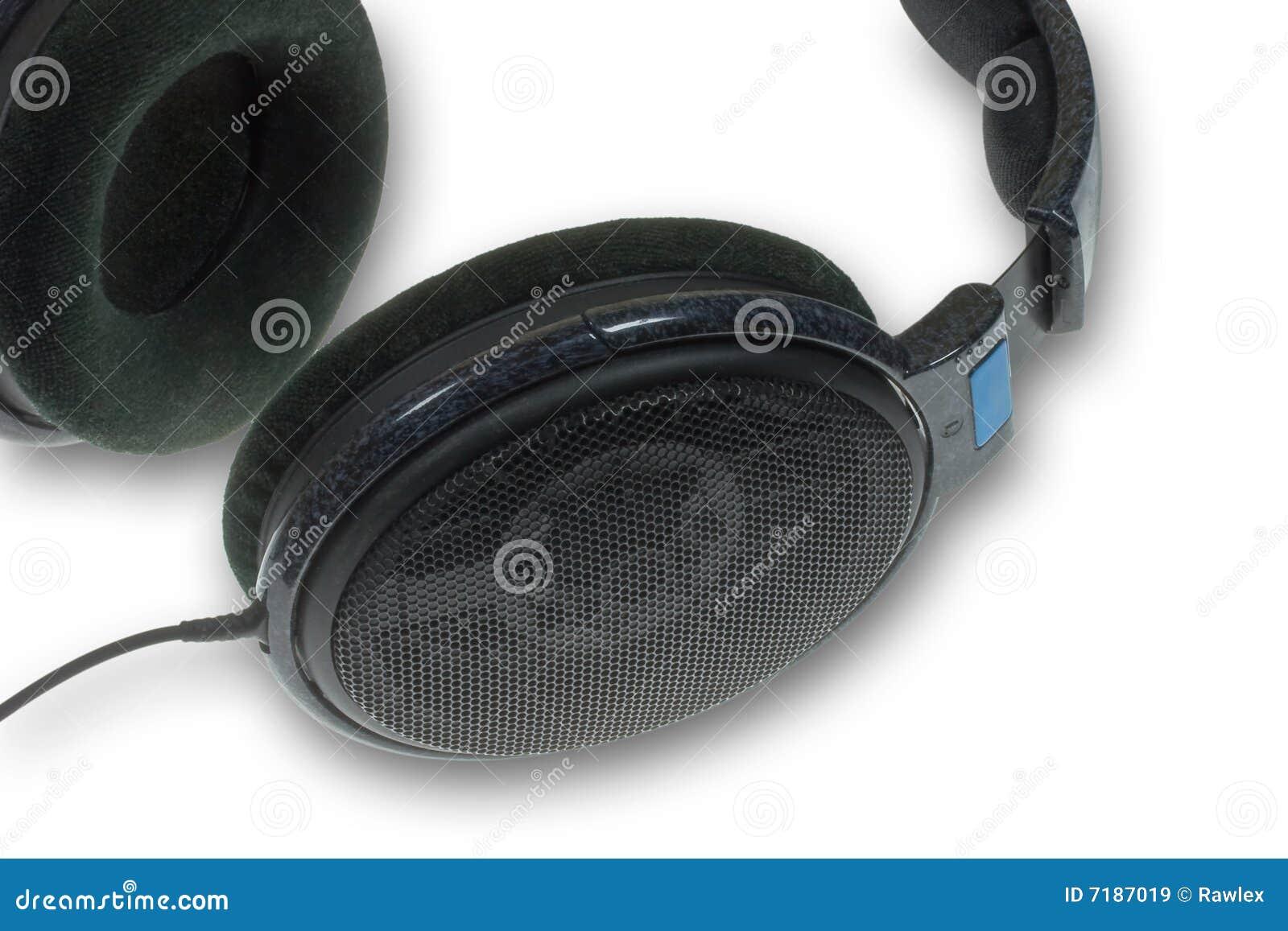 στενά ακουστικά επάνω