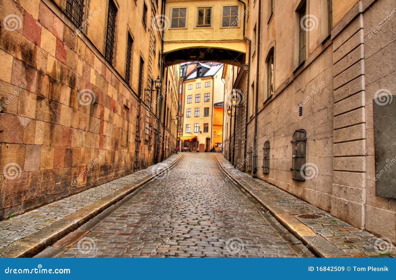 στενή οδός της Στοκχόλμη&sigmaf