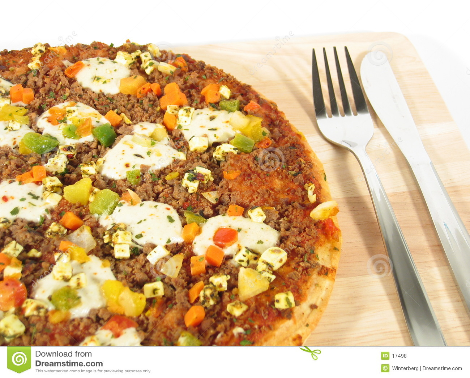 στενή πίτσα μαχαιροπήρουν&om