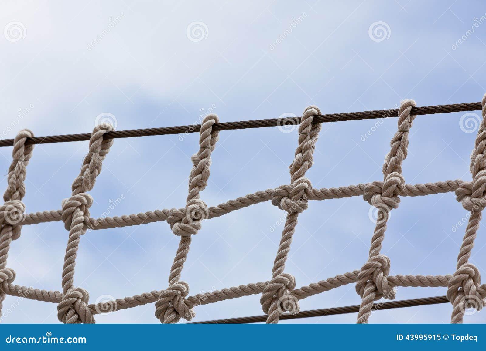 Στενός επάνω διχτυού ασφαλείας γιοτ