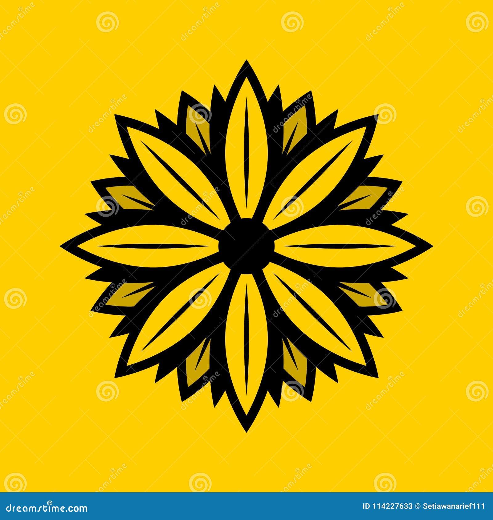 Στερεό σχέδιο λογότυπων της Daisy