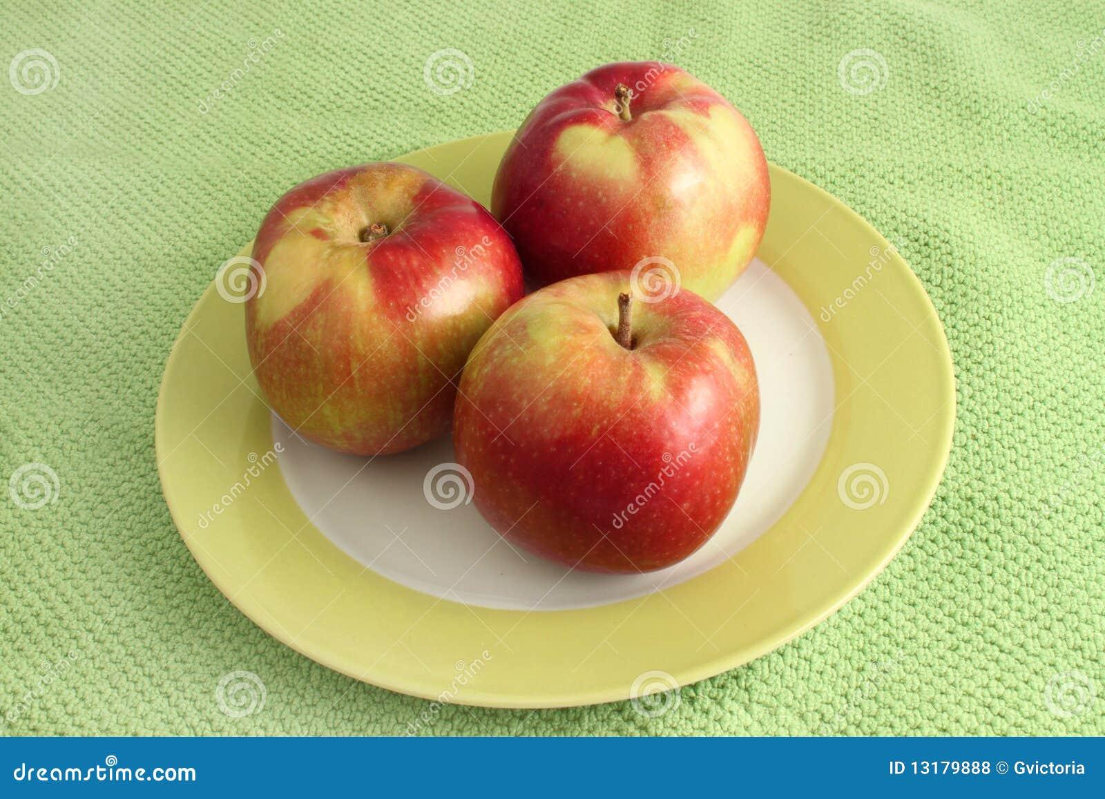 στοίβα μήλων