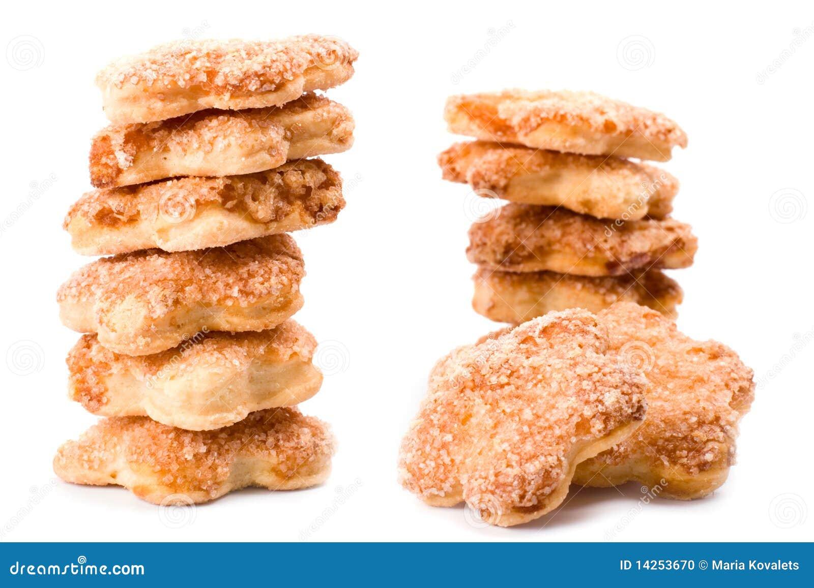 στοίβες μπισκότων
