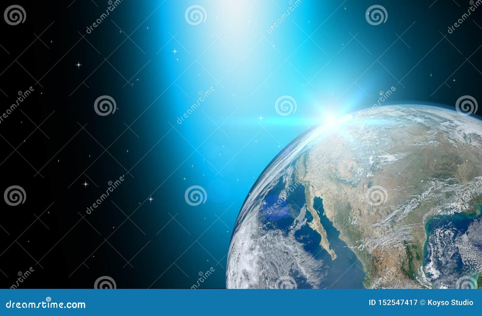 Στοιχεία γης ή κόσμων αυτής της εικόνας που εφοδιάζεται από τη NASA