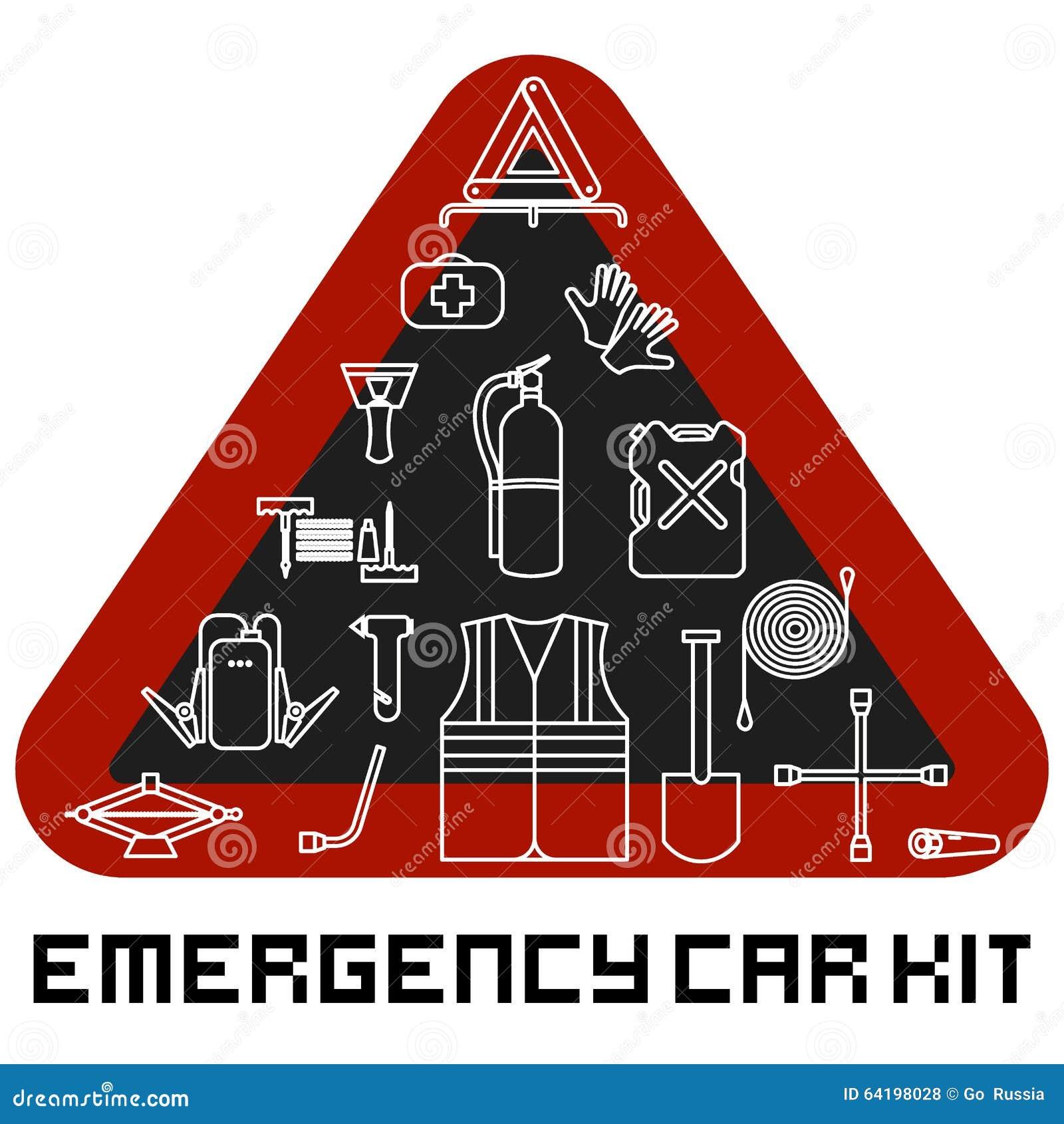 Στοιχεία οδικών εξαρτήσεων έκτακτης ανάγκης καθορισμένα Υπηρεσία αυτοκινήτων και επισκευή του εξοπλισμού Αυτόματα μηχανικά εργαλε