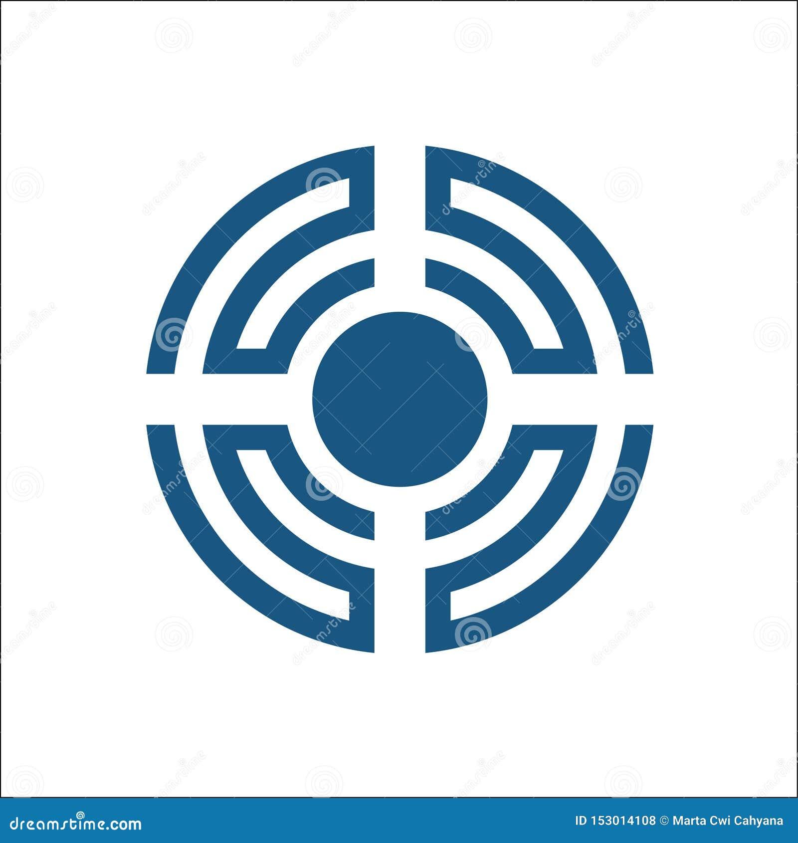 Στοιχείο σχεδίου λογότυπων υγιών κυμάτων