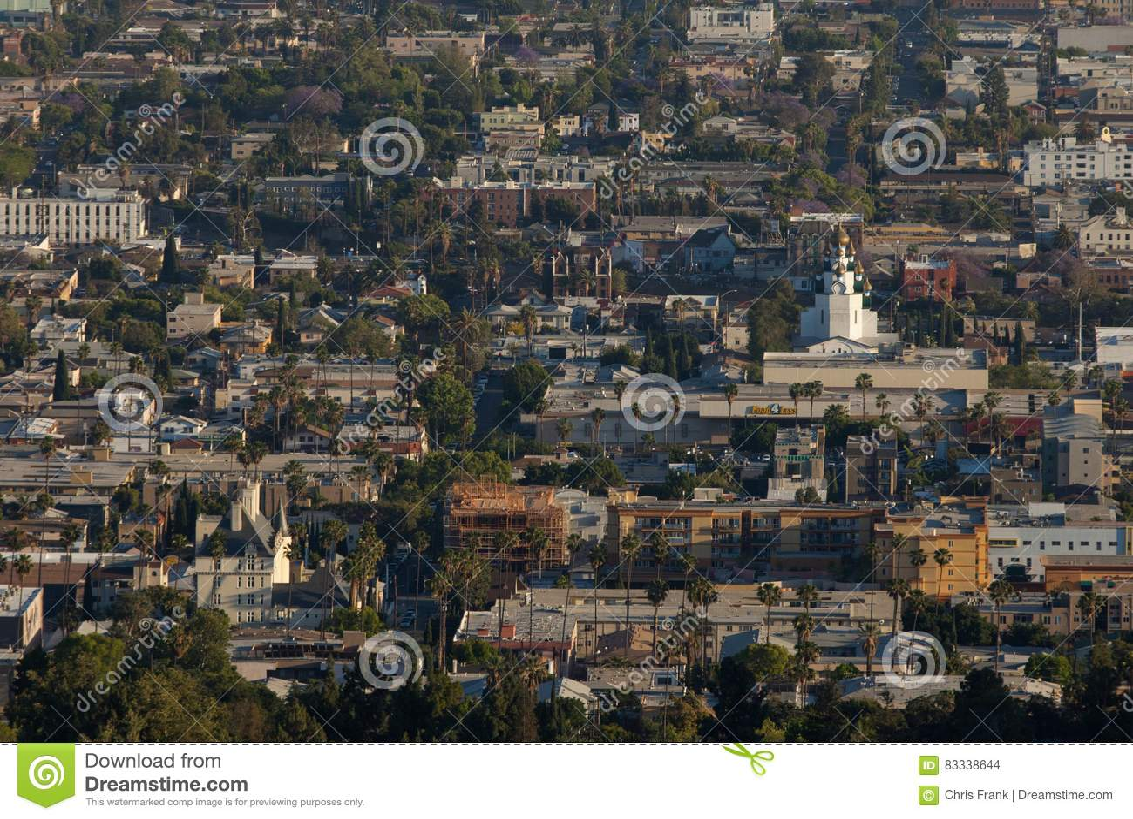 Στο κέντρο της πόλης ανατολή Hollywood