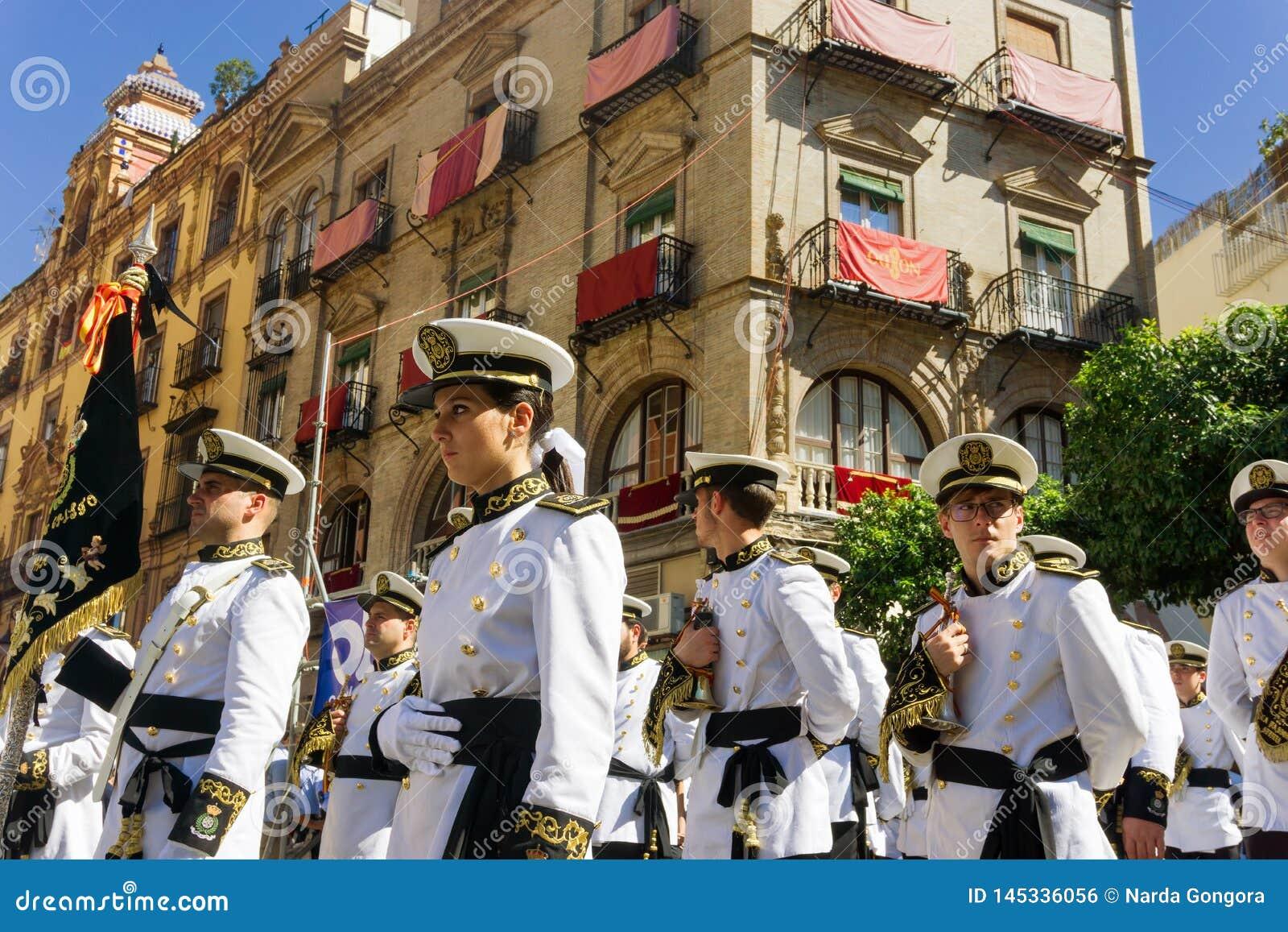 Στρατιωτική ζώνη στη Σεβίλη, Ισπανία