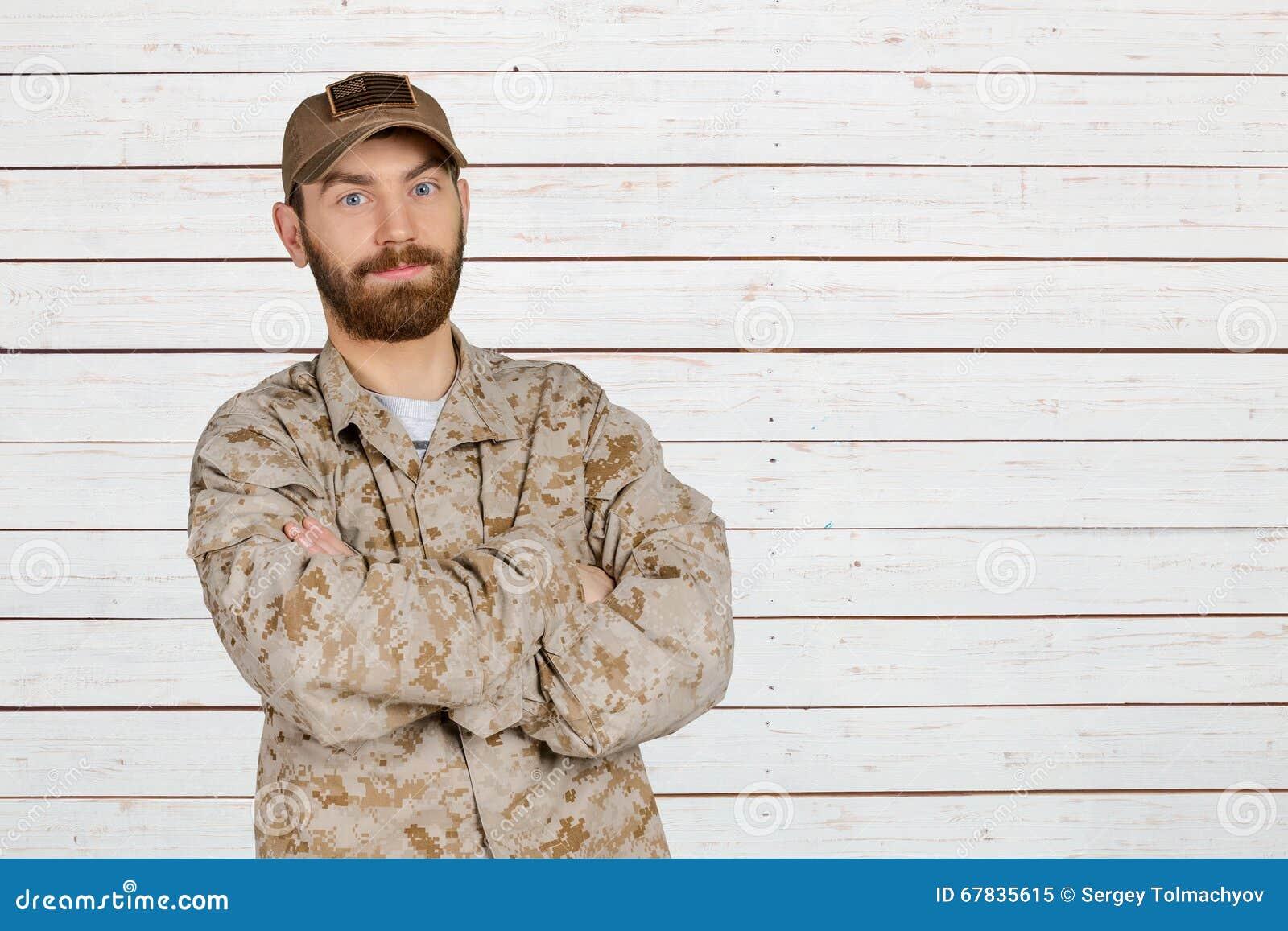 στρατιωτικό χαμόγελο ατόμ