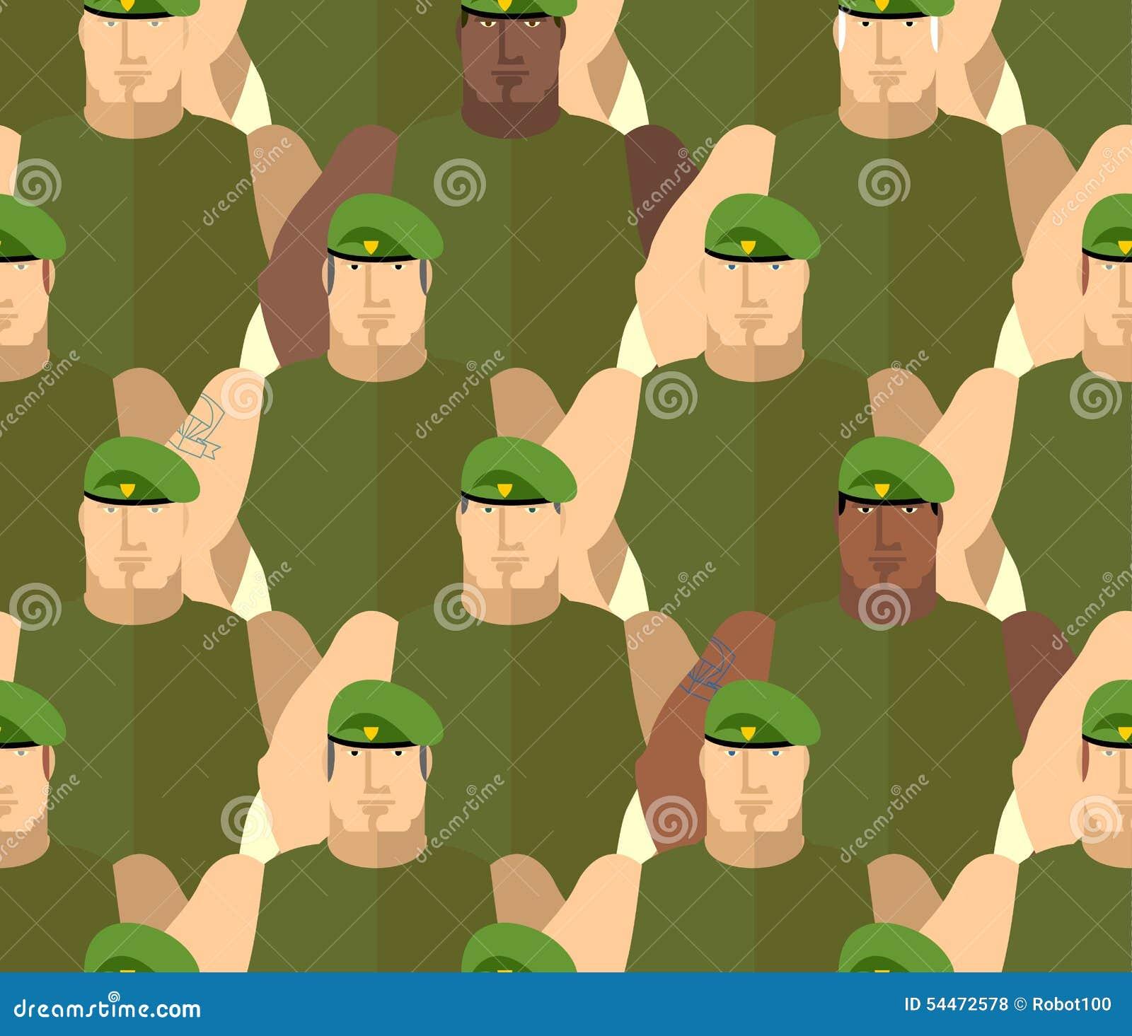 Στρατιώτες πράσινα Berets δυνάμεις ειδικές