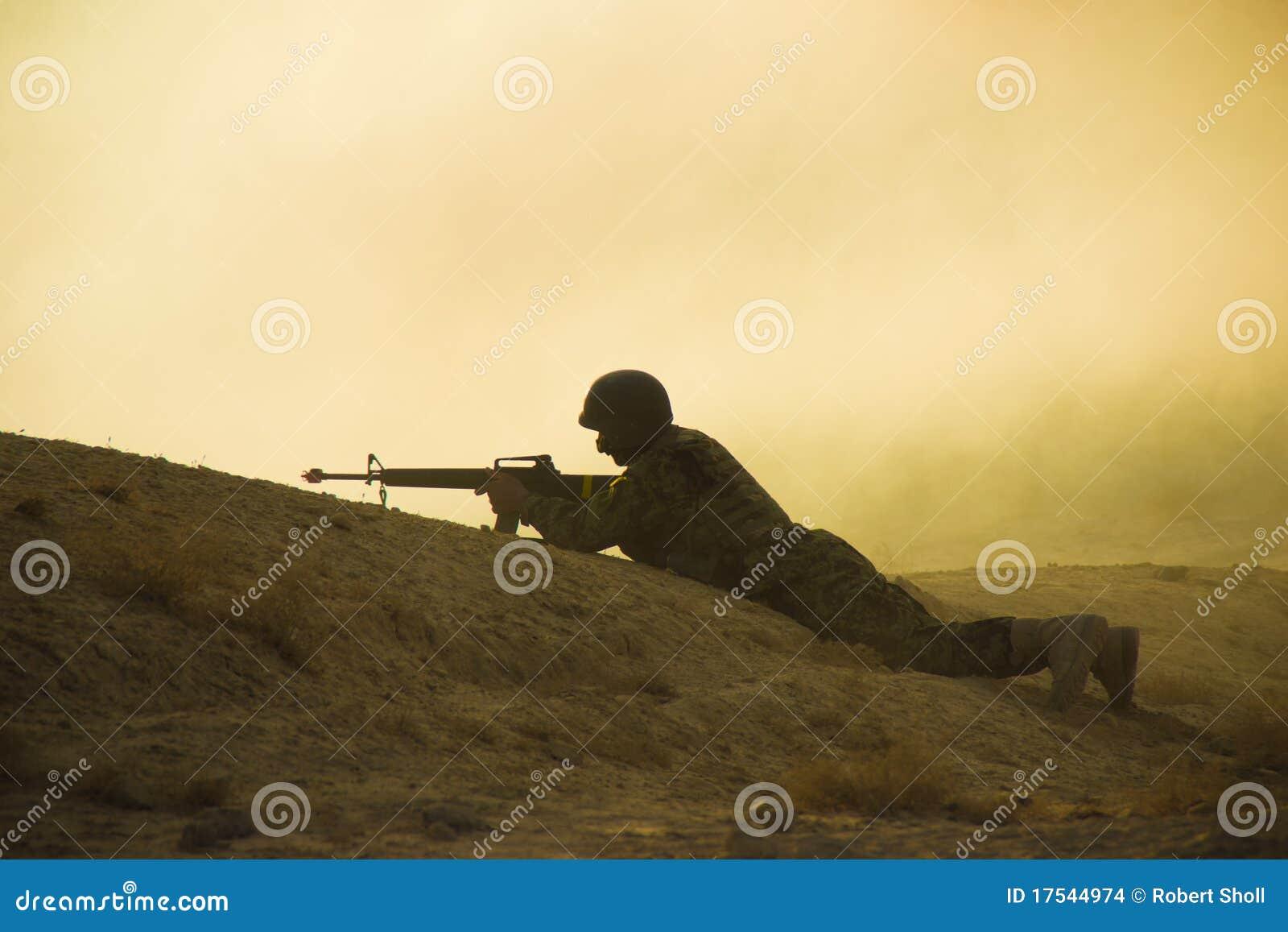στρατιώτης σκιαγραφιών