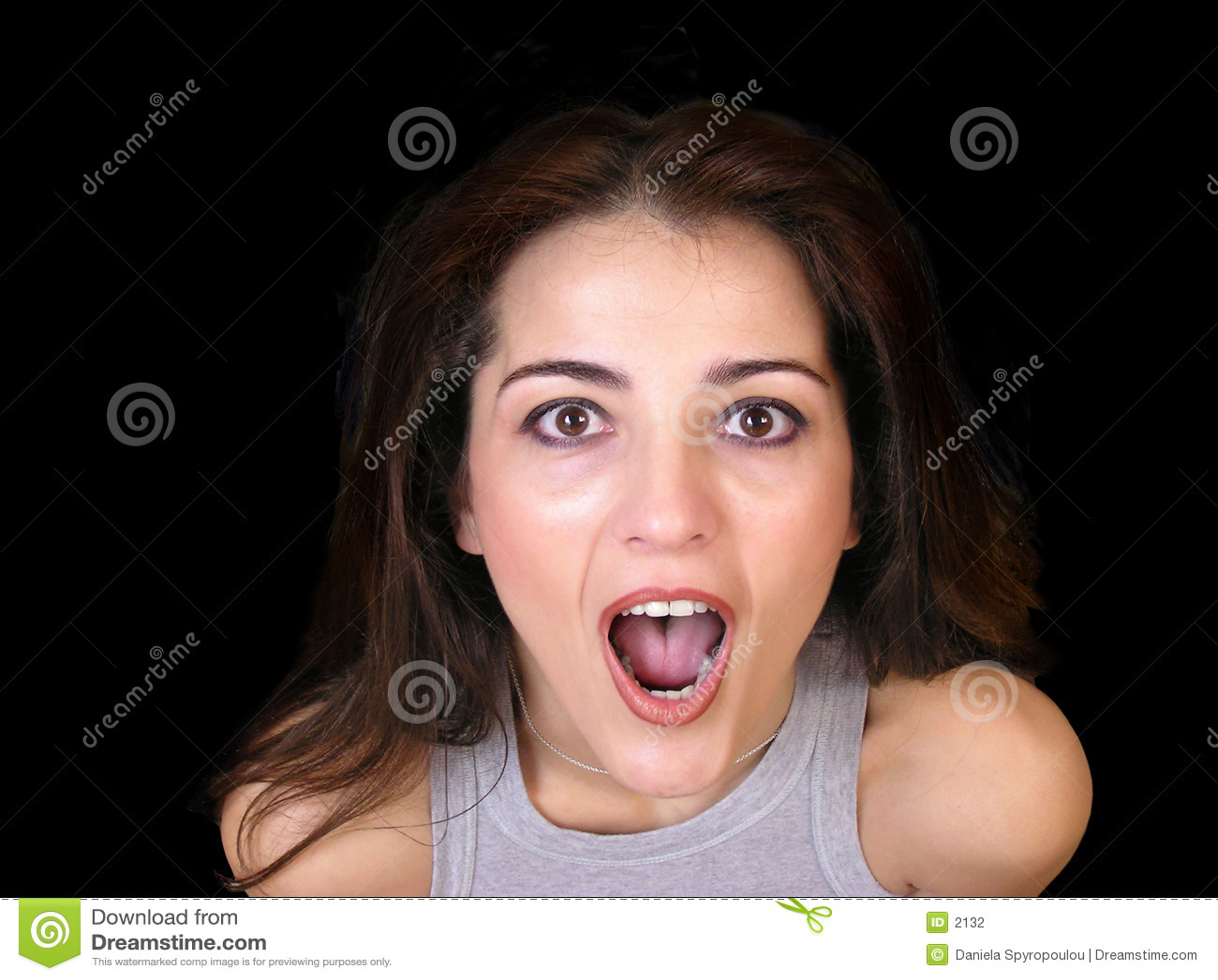 Download συγκινημένη γυναίκα στοκ εικόνες. εικόνα από ζαλισμένος, γοητευμένος - 2132