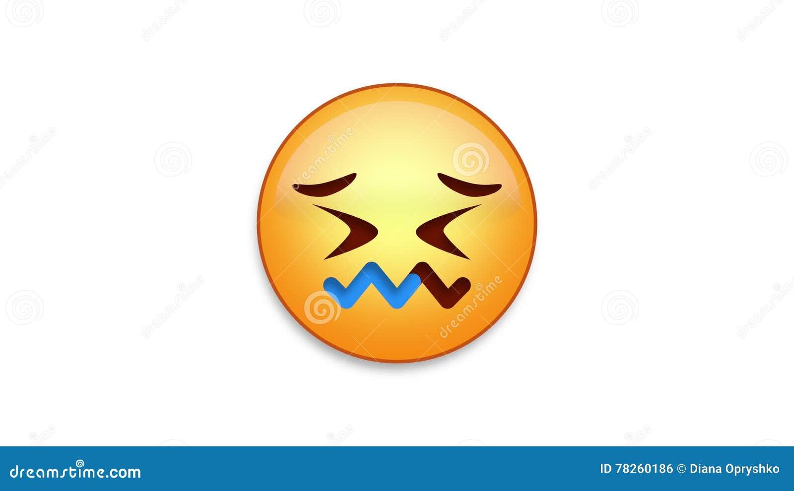 Συγχυσμένο Emoji με τη μεταλλίνη Luma