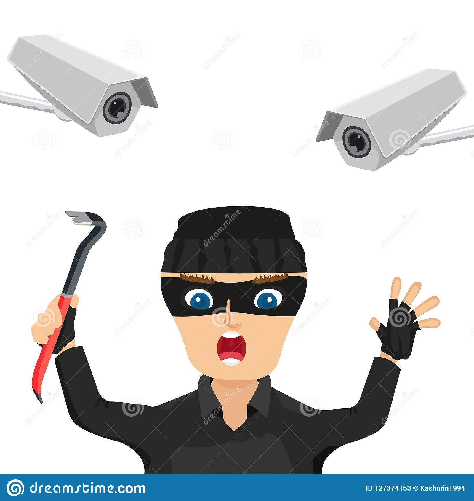 Συλλήφθείτε κάμερα ληστής CCTV