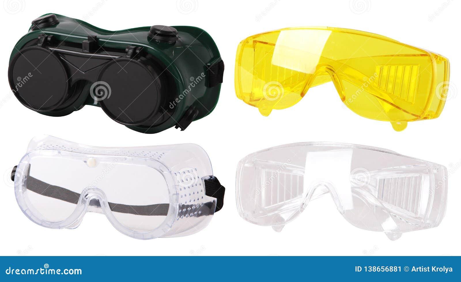Συλλογή των προστατευτικών γυαλιών ασφάλειας θεαμάτων πλαστικά προστατευτικά γυαλιά εργασίας