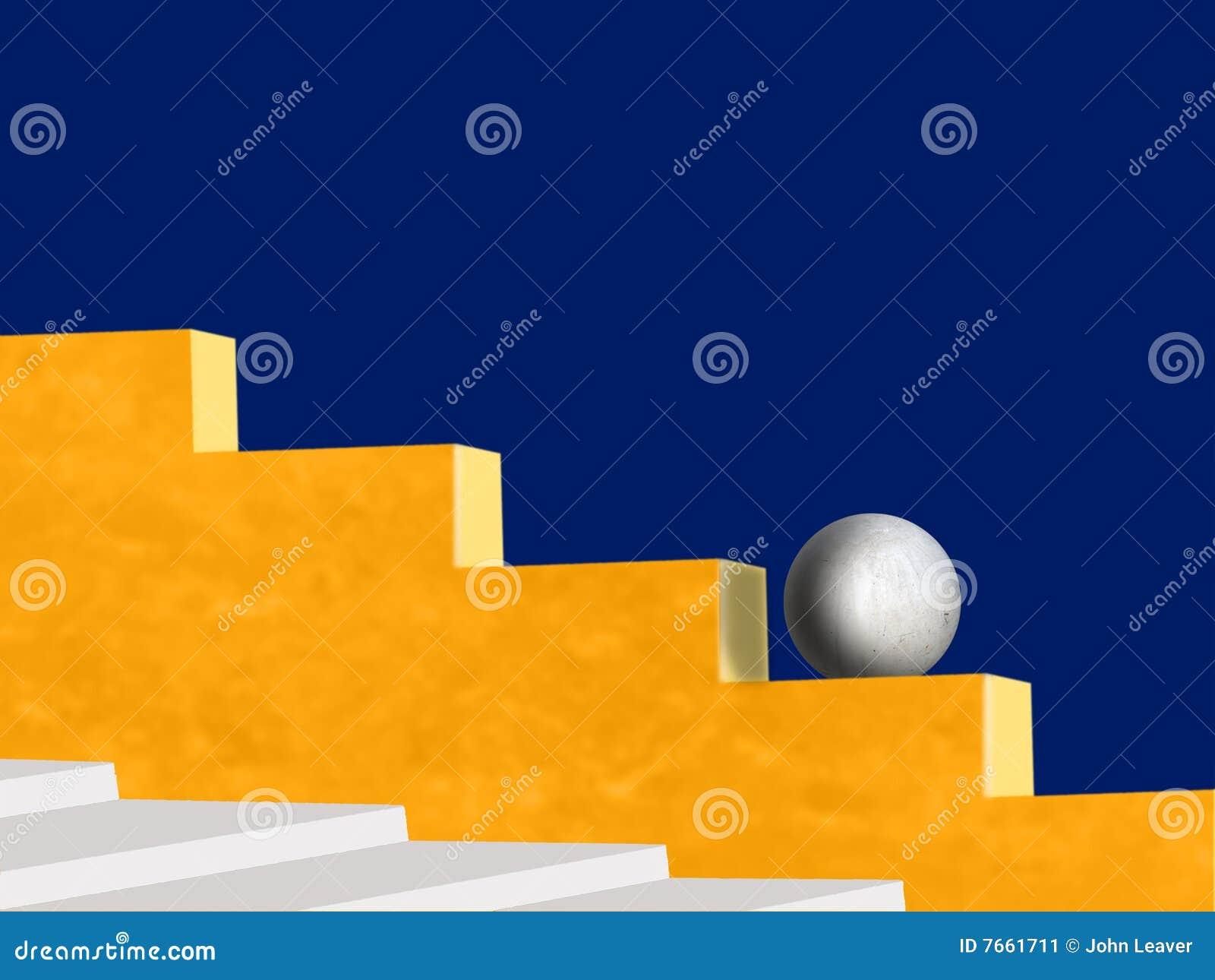 συμπαγής τοίχος σφαιρών