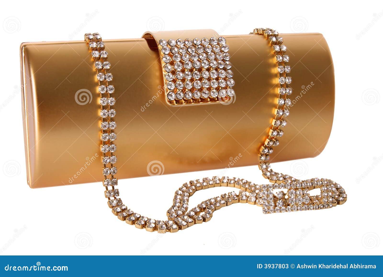 συμπλέκτης τσαντών χρυσός